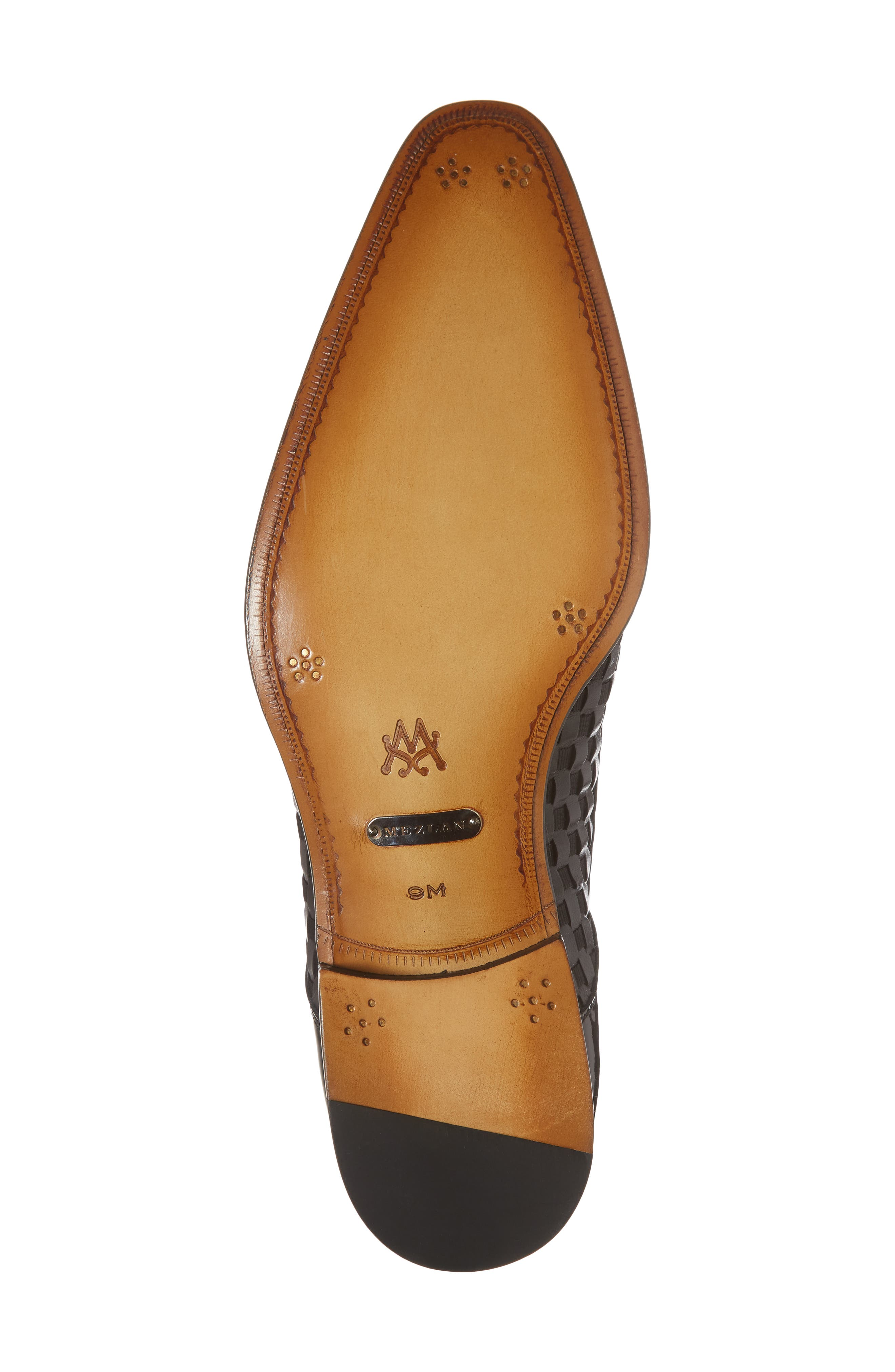 Sexto Plain Toe Derby,                             Alternate thumbnail 6, color,                             Black Leather