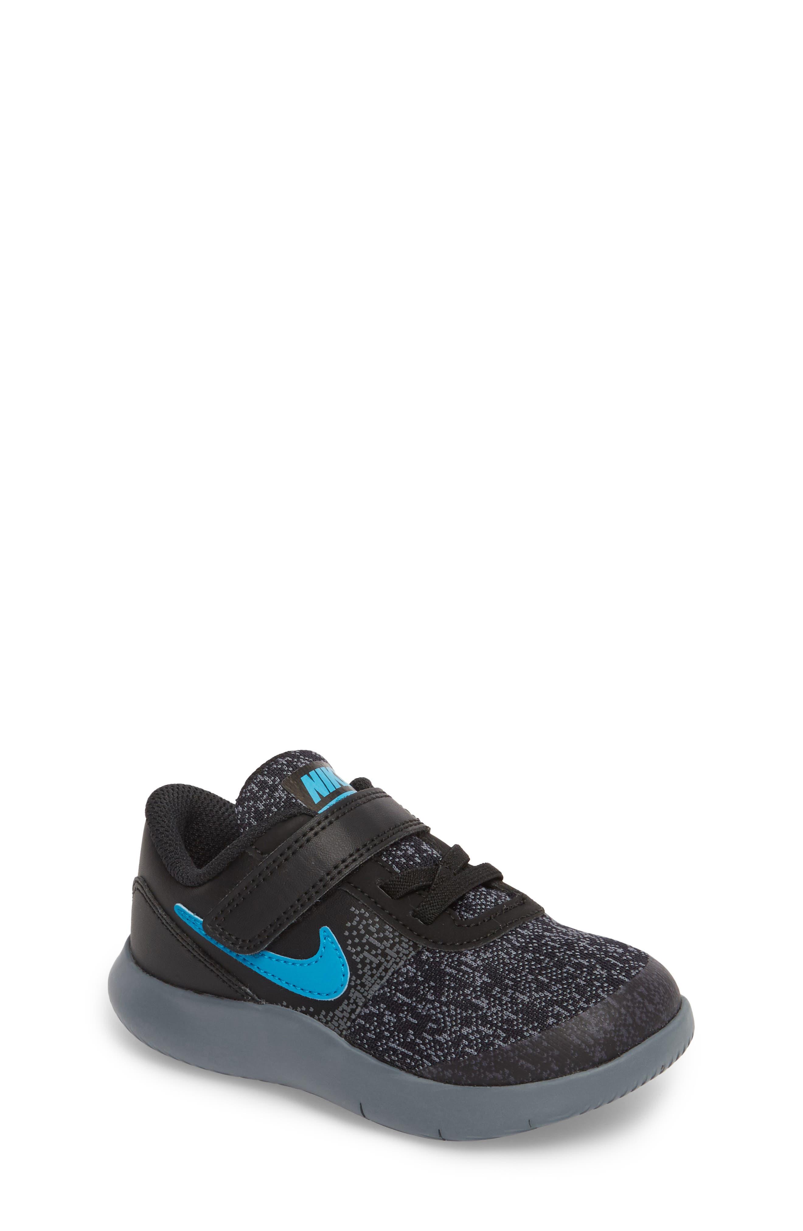 Main Image - Nike Flex Contact Running Shoe (Baby, Walker, Toddler & Little Kid)