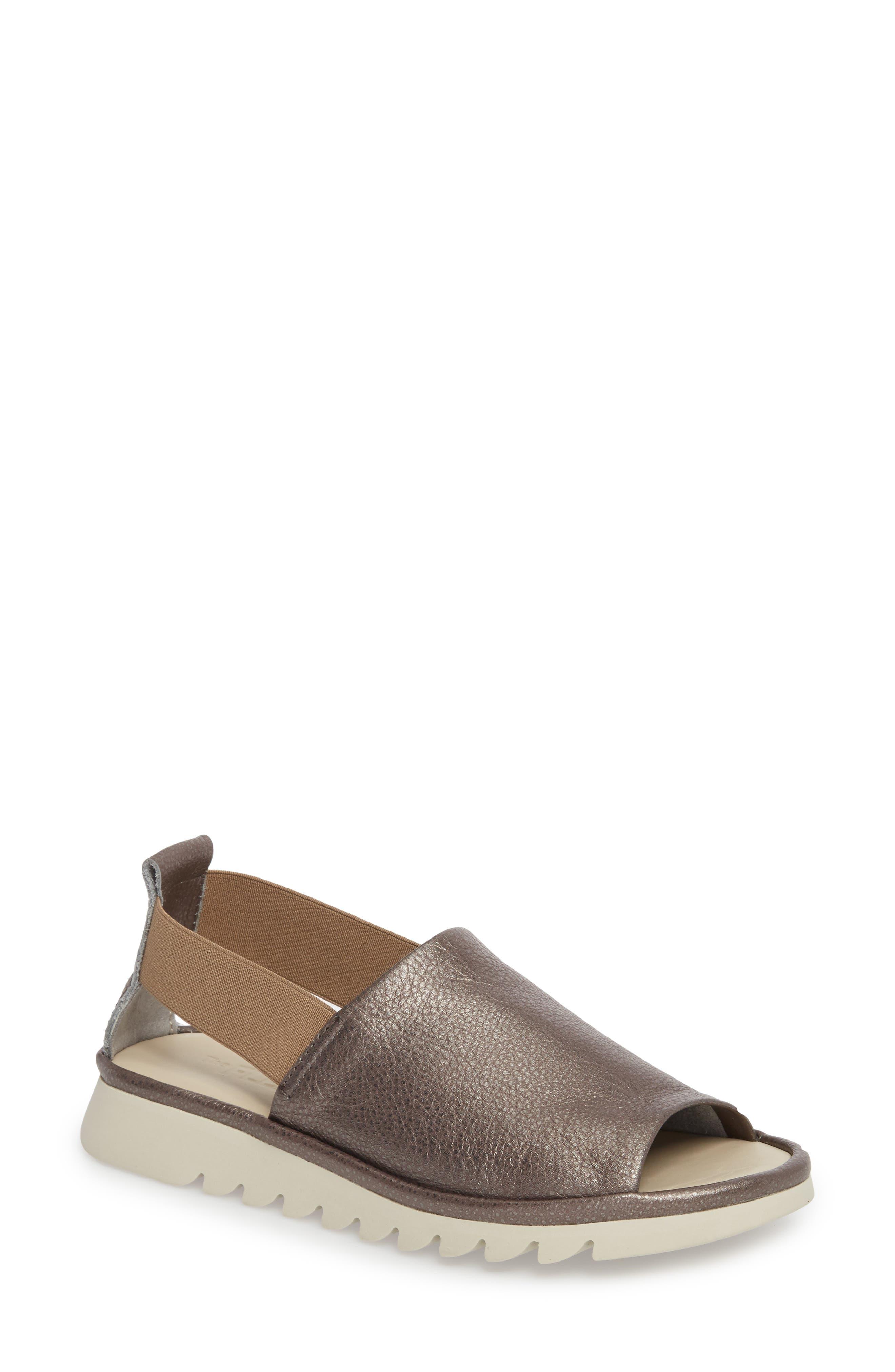 Shore Line Sandal,                             Main thumbnail 1, color,                             Canna Di Fucile Leather