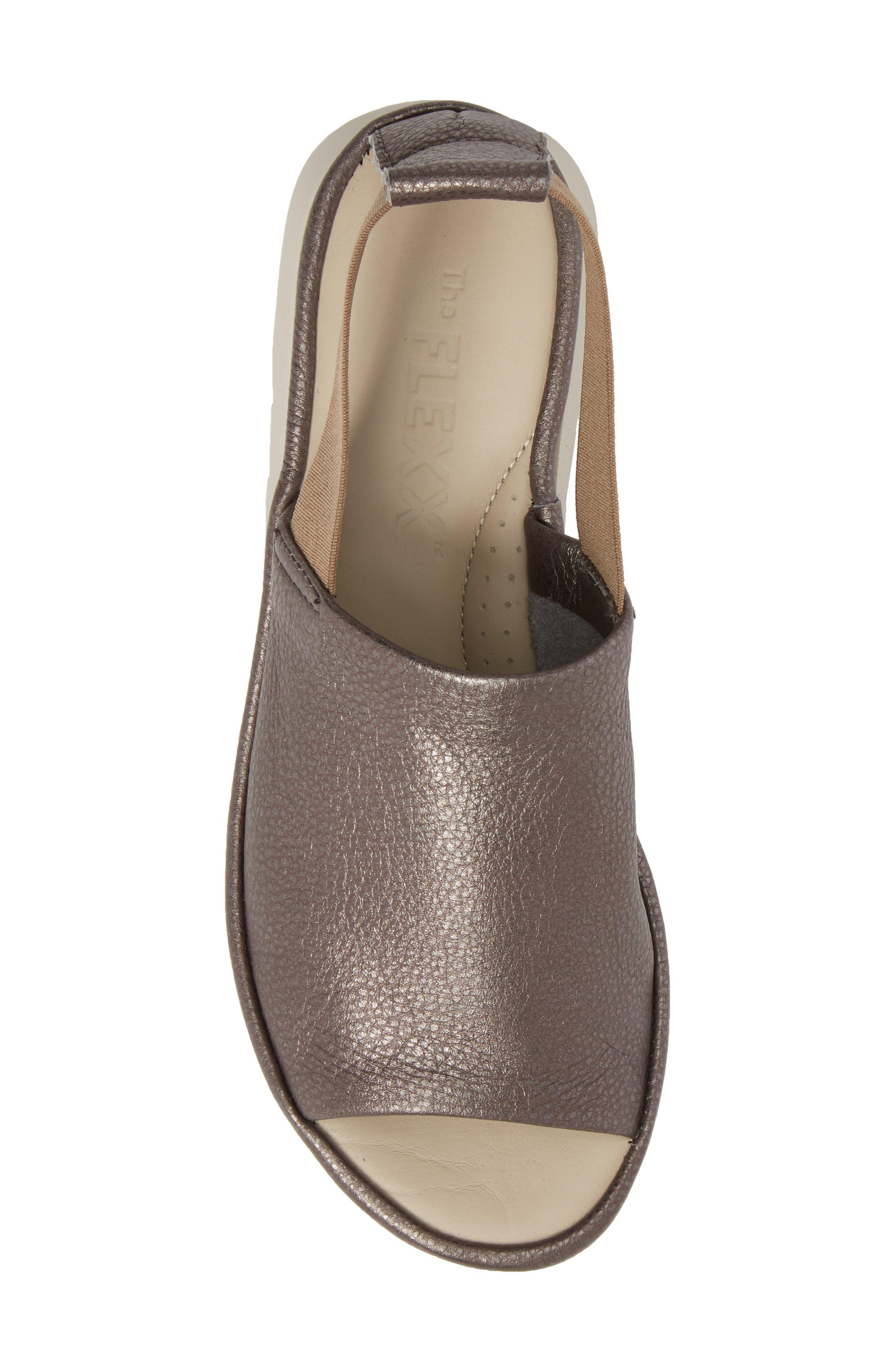 Shore Line Sandal,                             Alternate thumbnail 5, color,                             Canna Di Fucile Leather