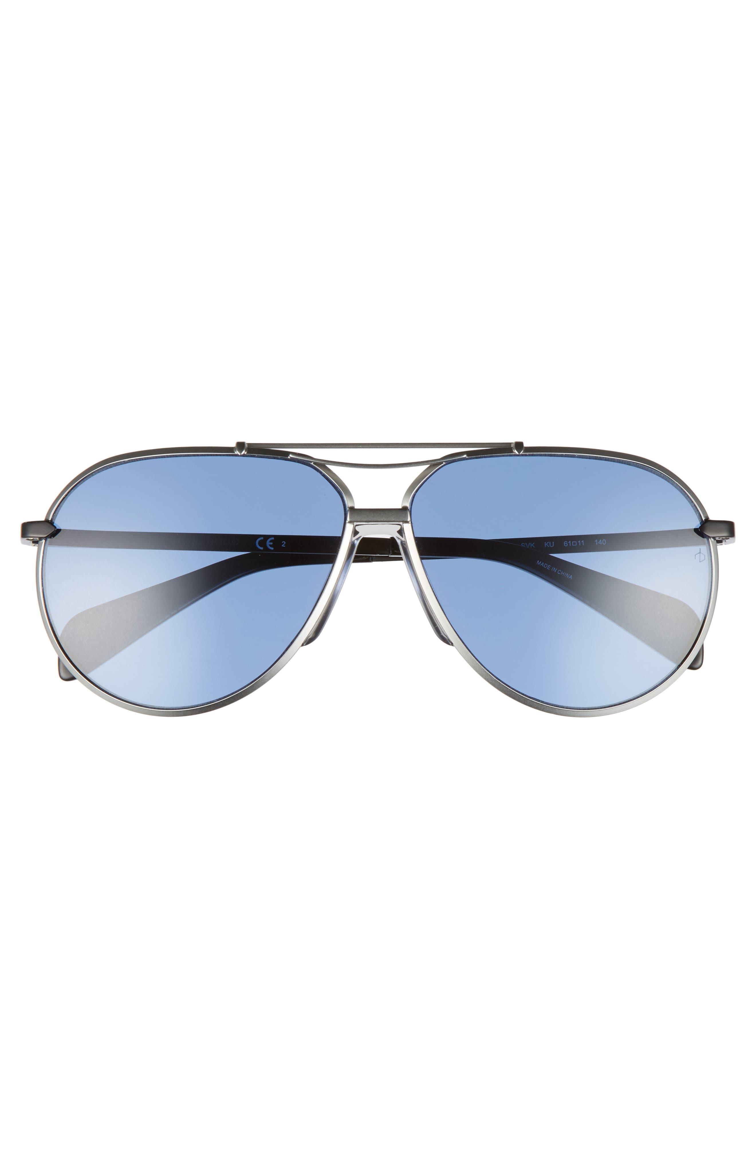 Alternate Image 2  - rag & bone 61mm Aviator Sunglasses