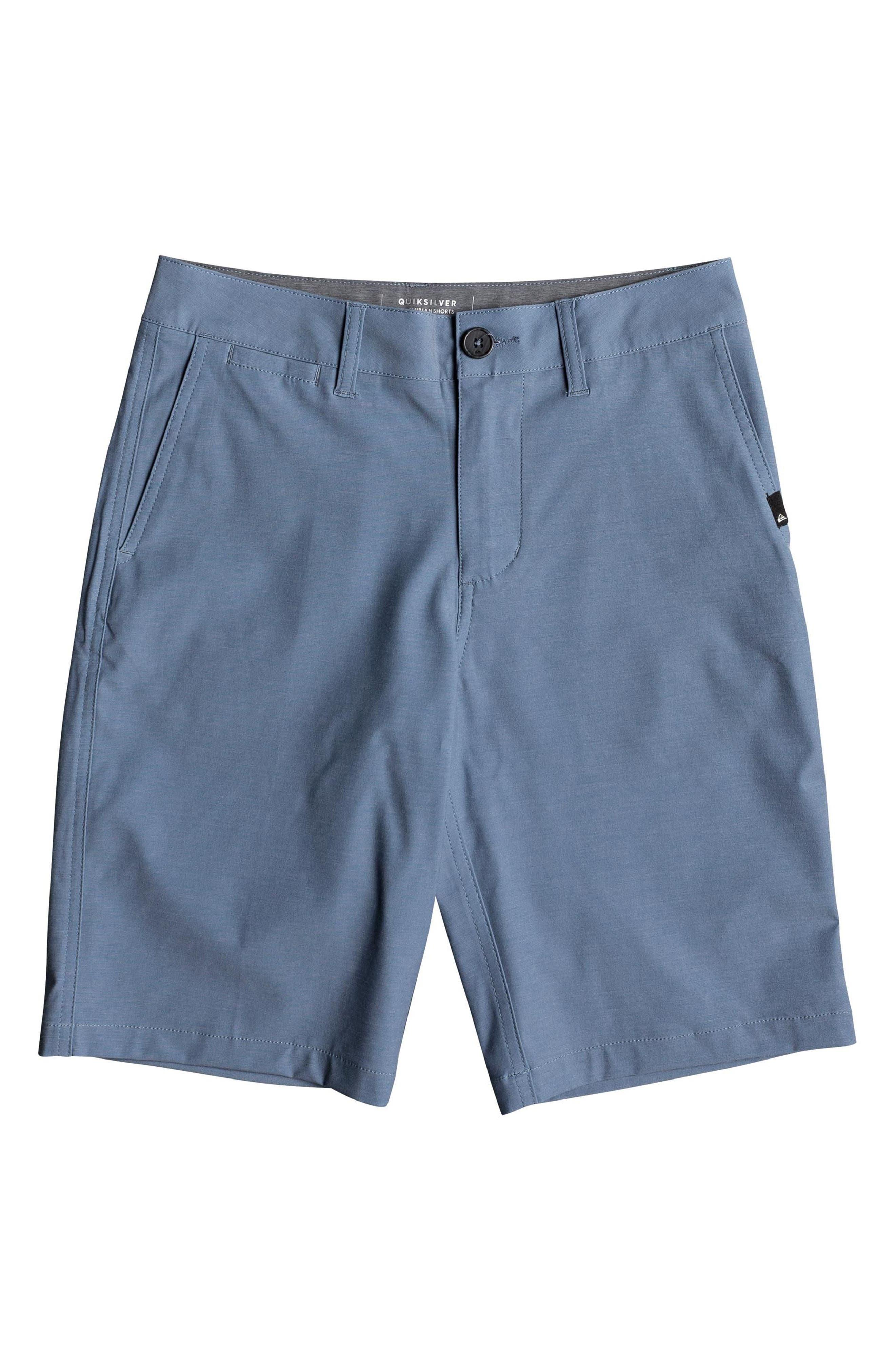 Quiksilver Union Heather Amphibian Hybrid Shorts (Big Boys)