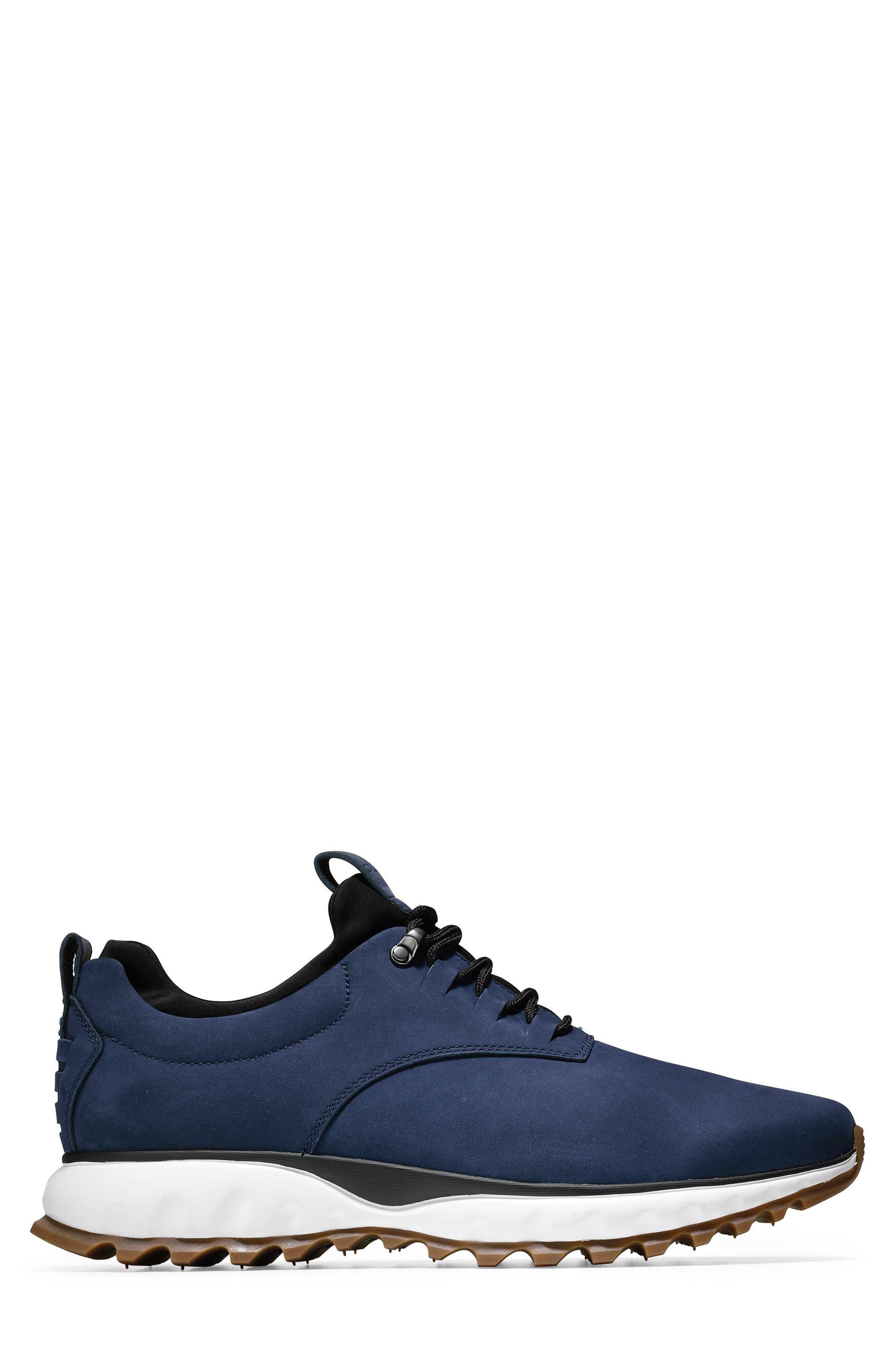 GrandExpløre All Terrain Waterproof Sneaker,                             Alternate thumbnail 3, color,                             Marine Blue Nubuck