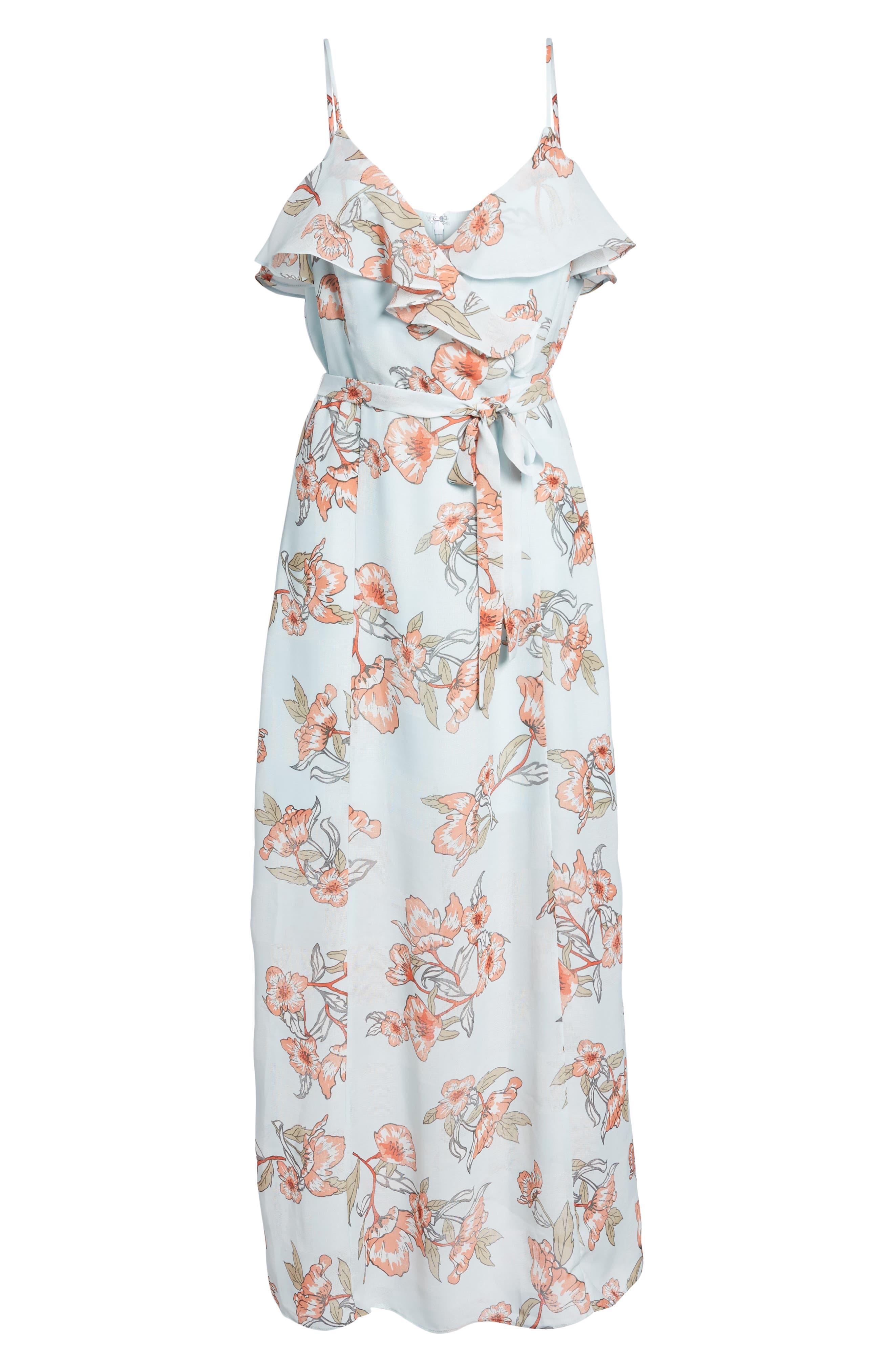 Alternate Image 7  - J.O.A. Ruffle Maxi Dress