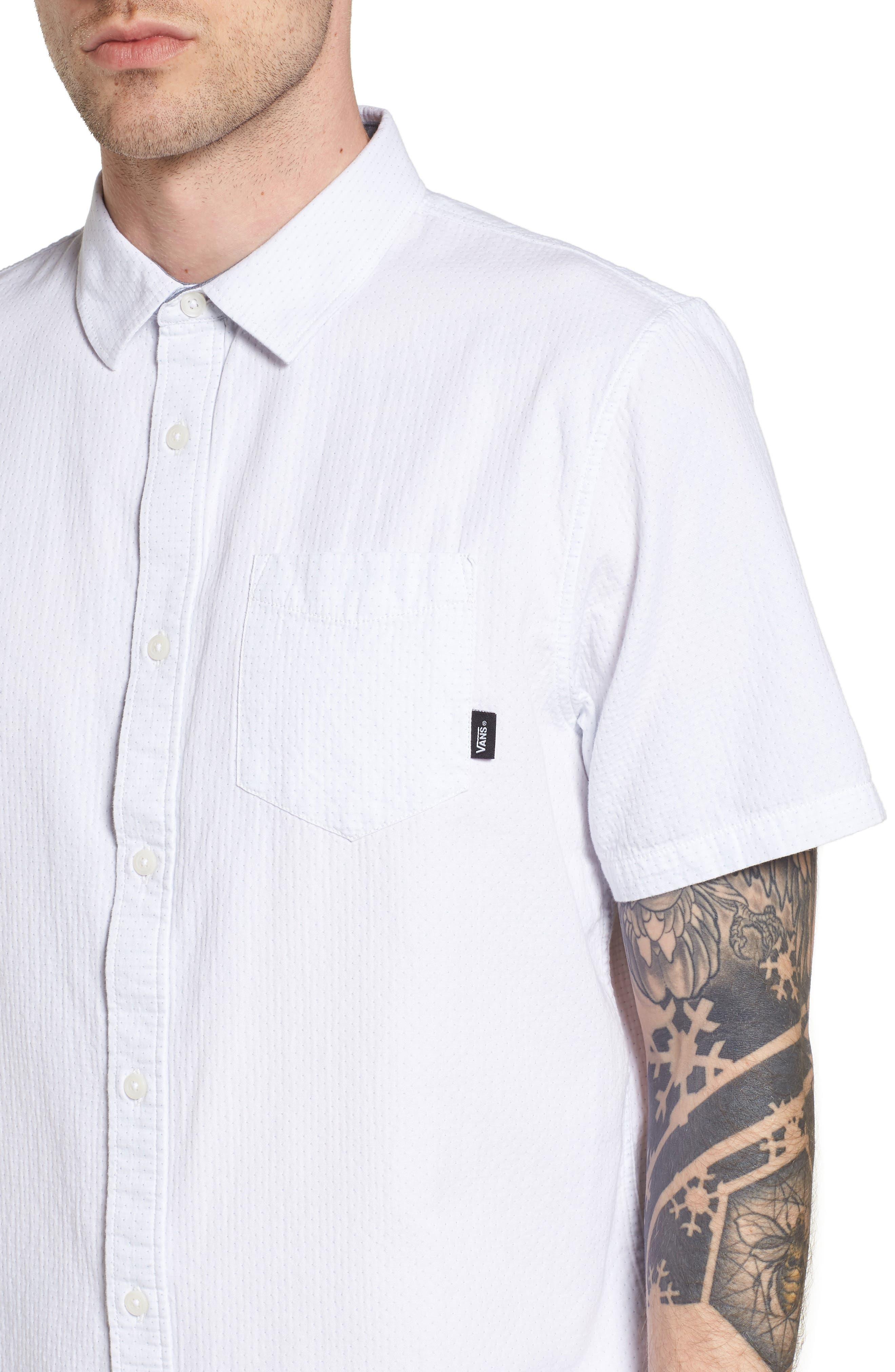 Fairdale Woven Shirt,                             Alternate thumbnail 2, color,                             White