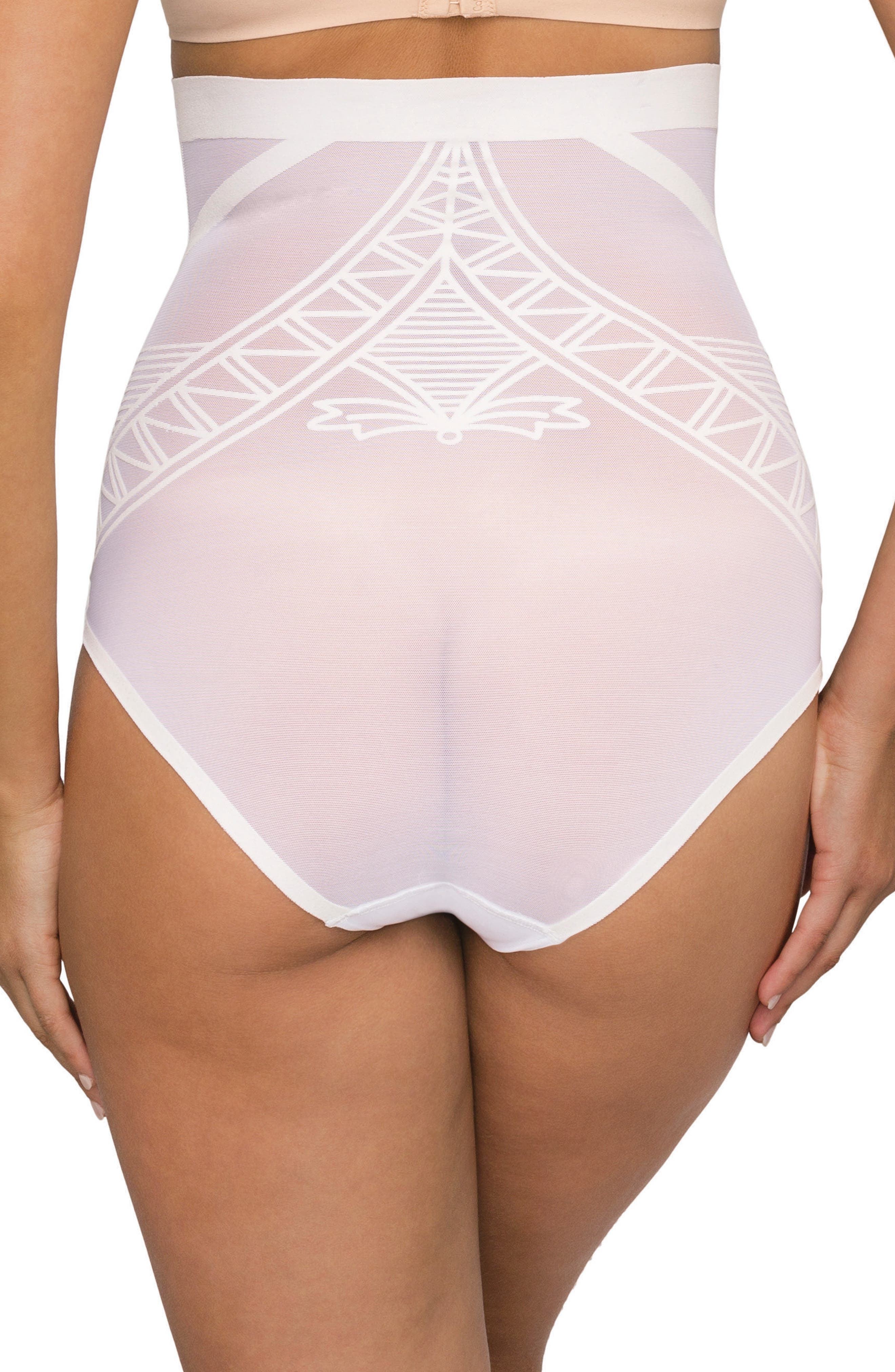 Enchanté High Waist Shaper Briefs,                             Alternate thumbnail 2, color,                             Frost