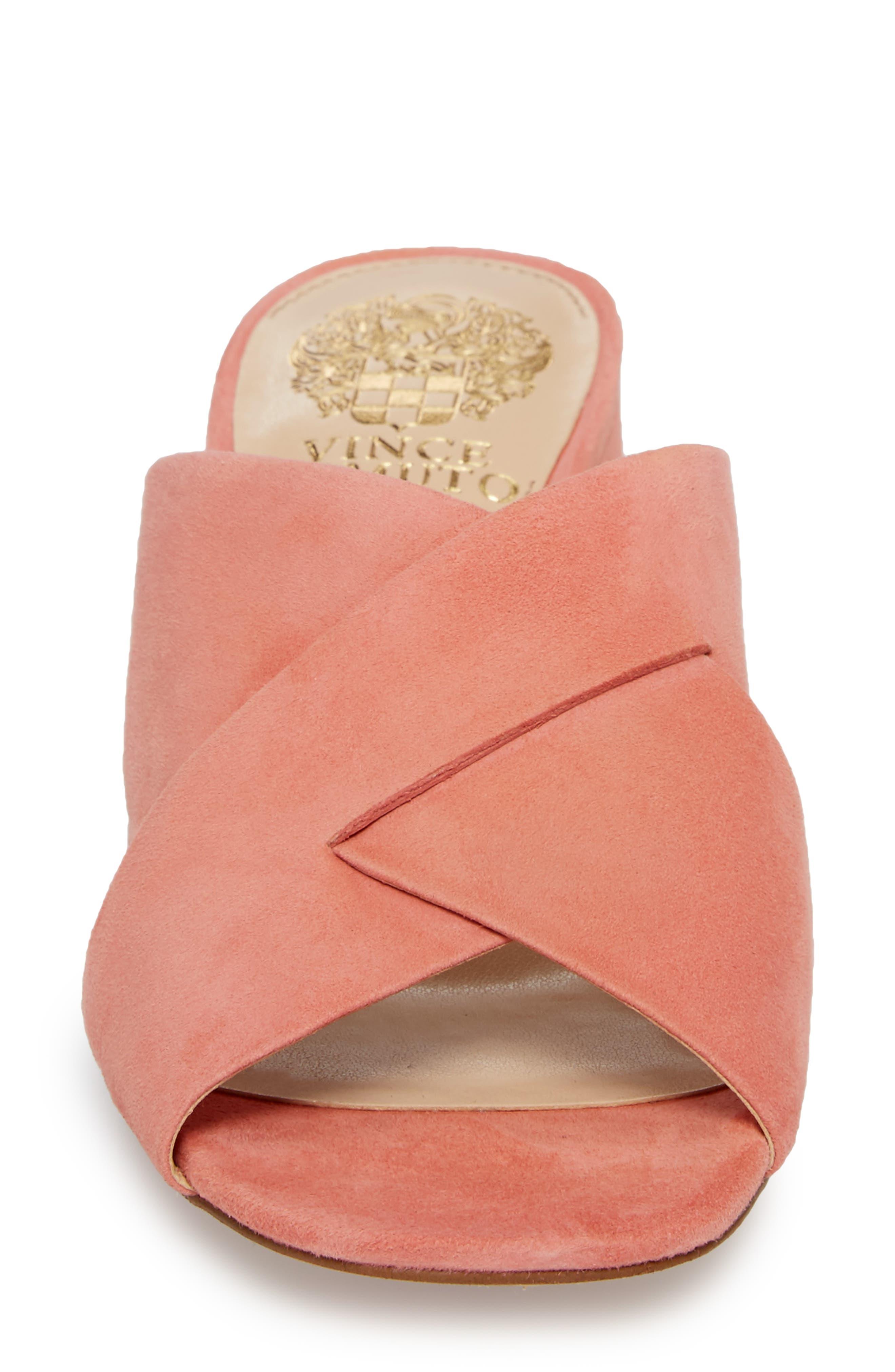 Stania Sandal,                             Alternate thumbnail 4, color,                             Fancy Flamingo Suede