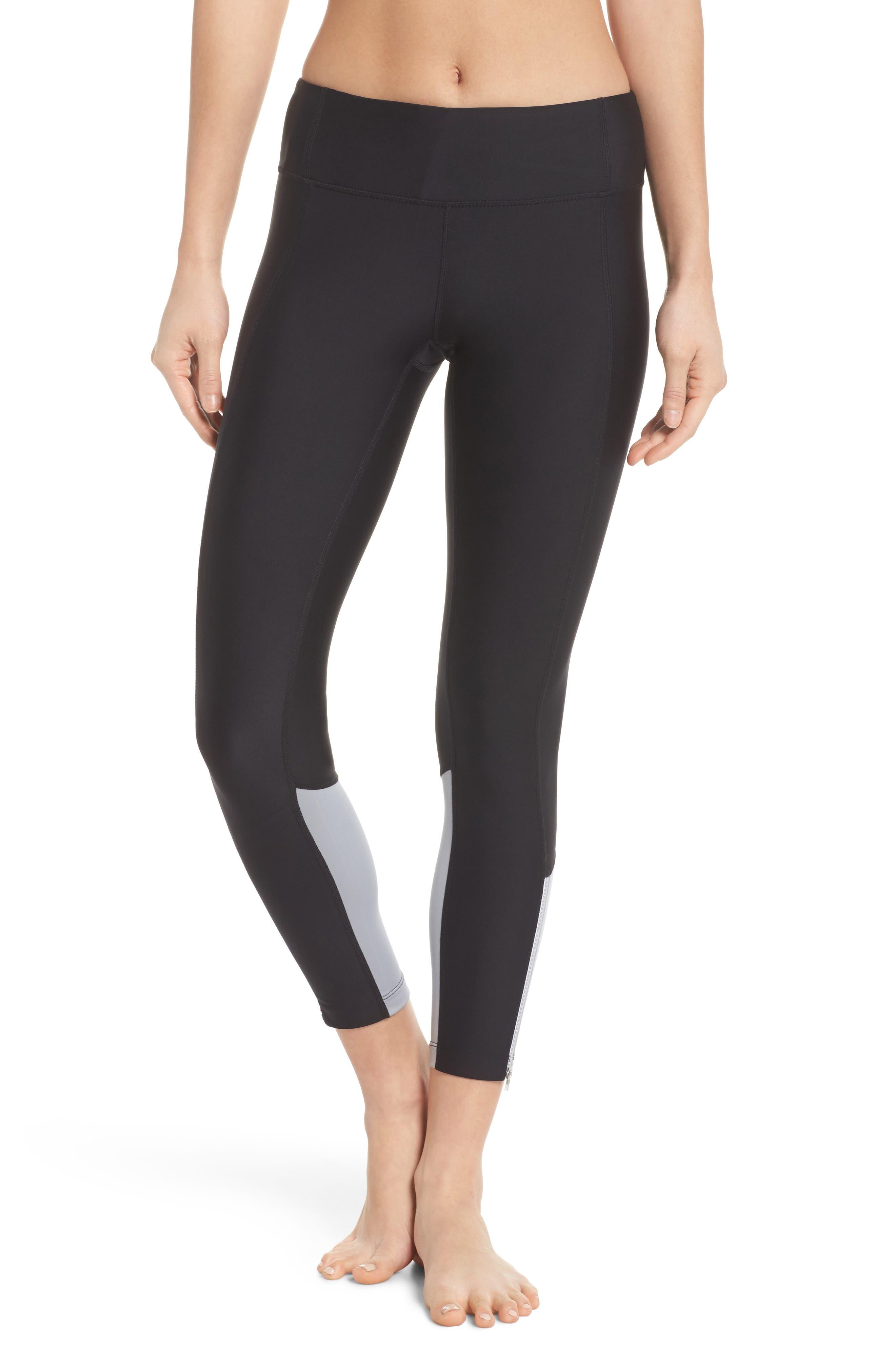 Machina Midi Leggings,                         Main,                         color, Black
