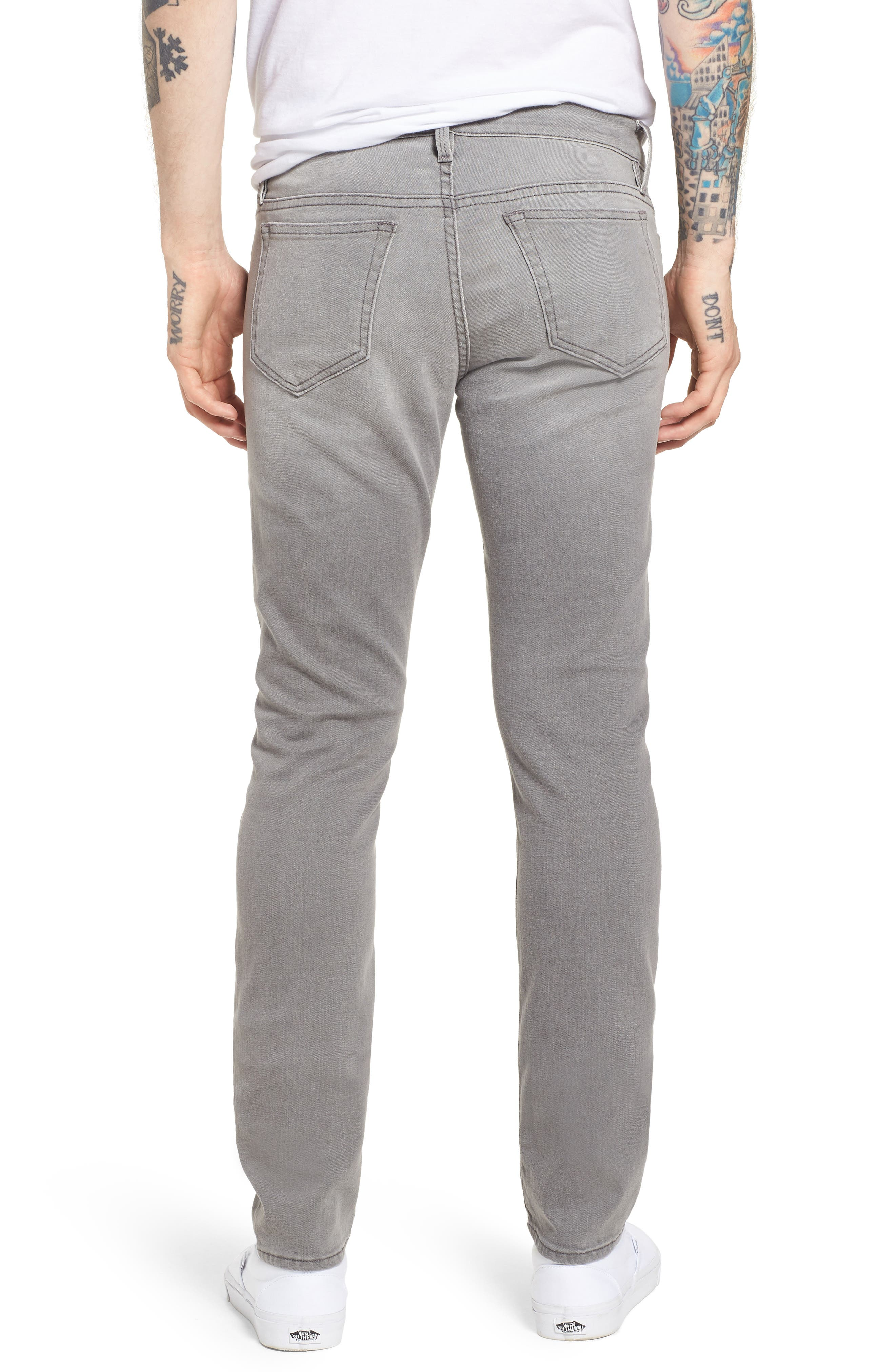 L'Homme Slim Fit Jeans,                             Alternate thumbnail 2, color,                             Bedwell