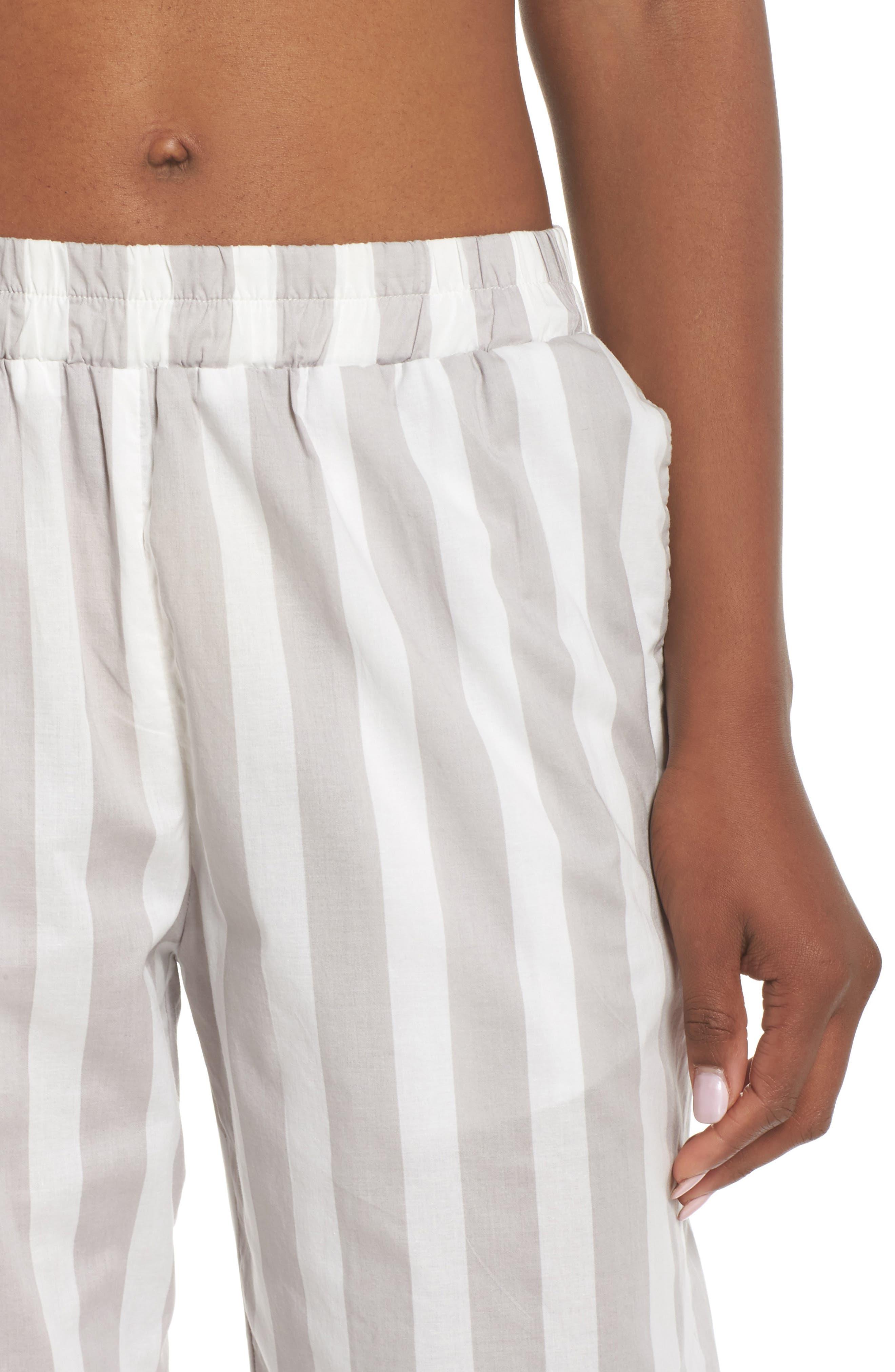 Alternate Image 6  - Maison du Soir Capri Pajama Pants
