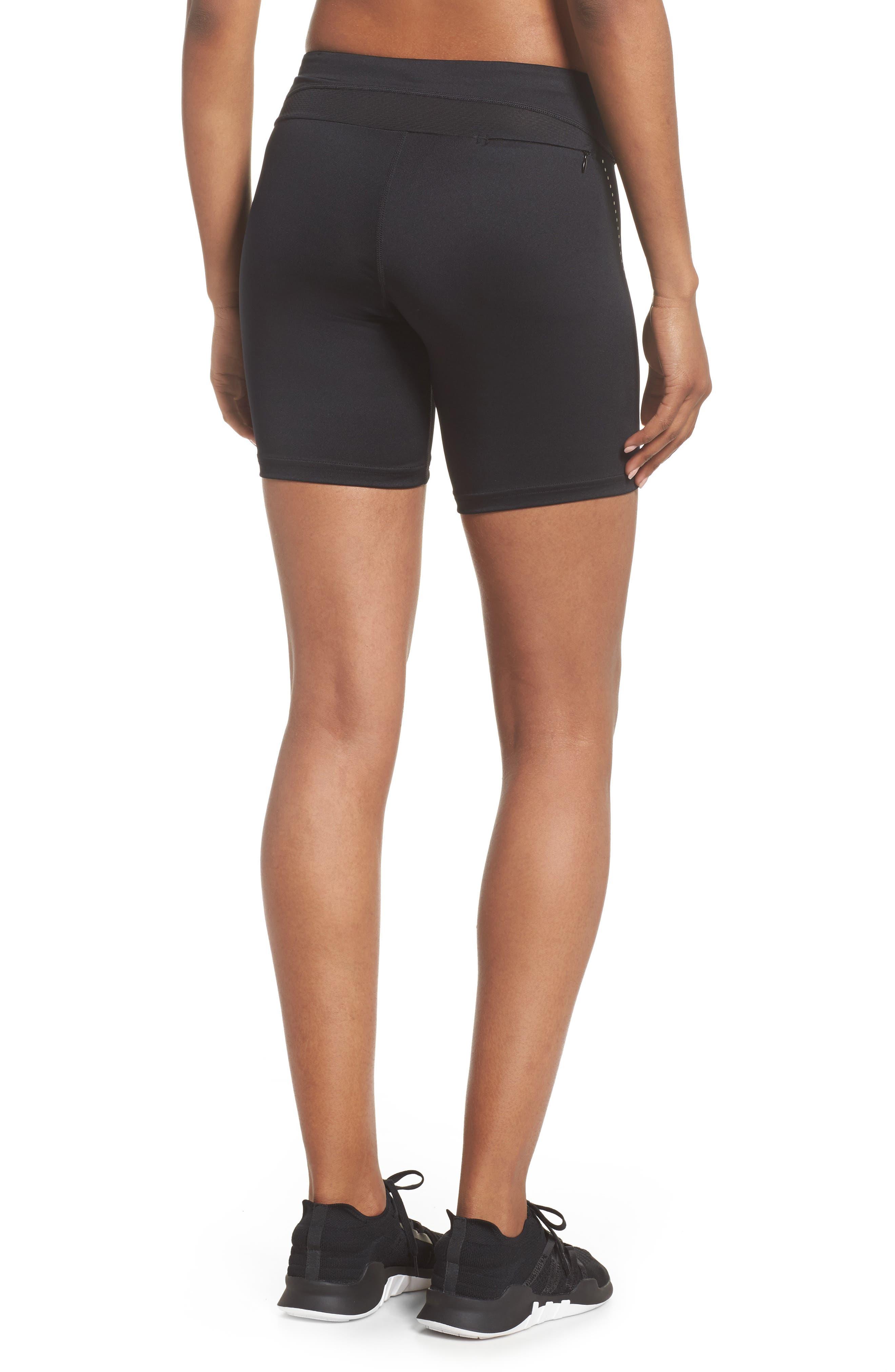 Essential Shorts,                             Alternate thumbnail 2, color,                             Black