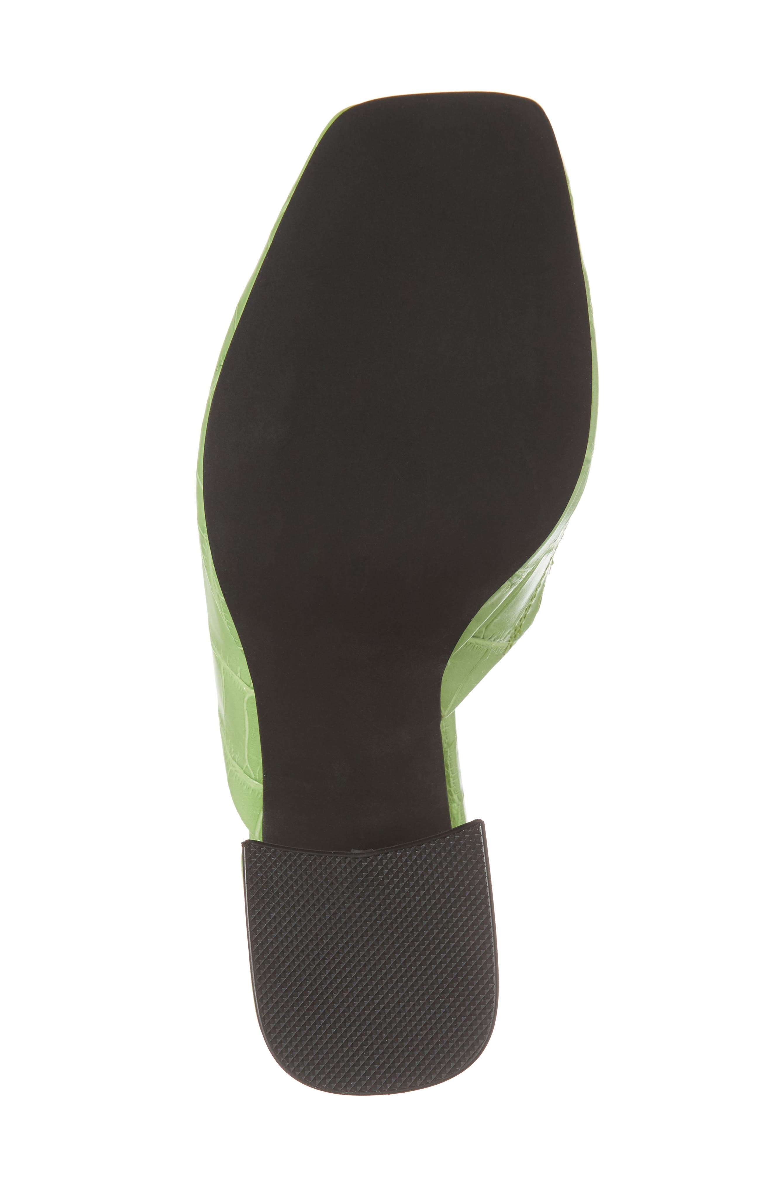 Suzuci Sandal,                             Alternate thumbnail 6, color,                             Green Leather