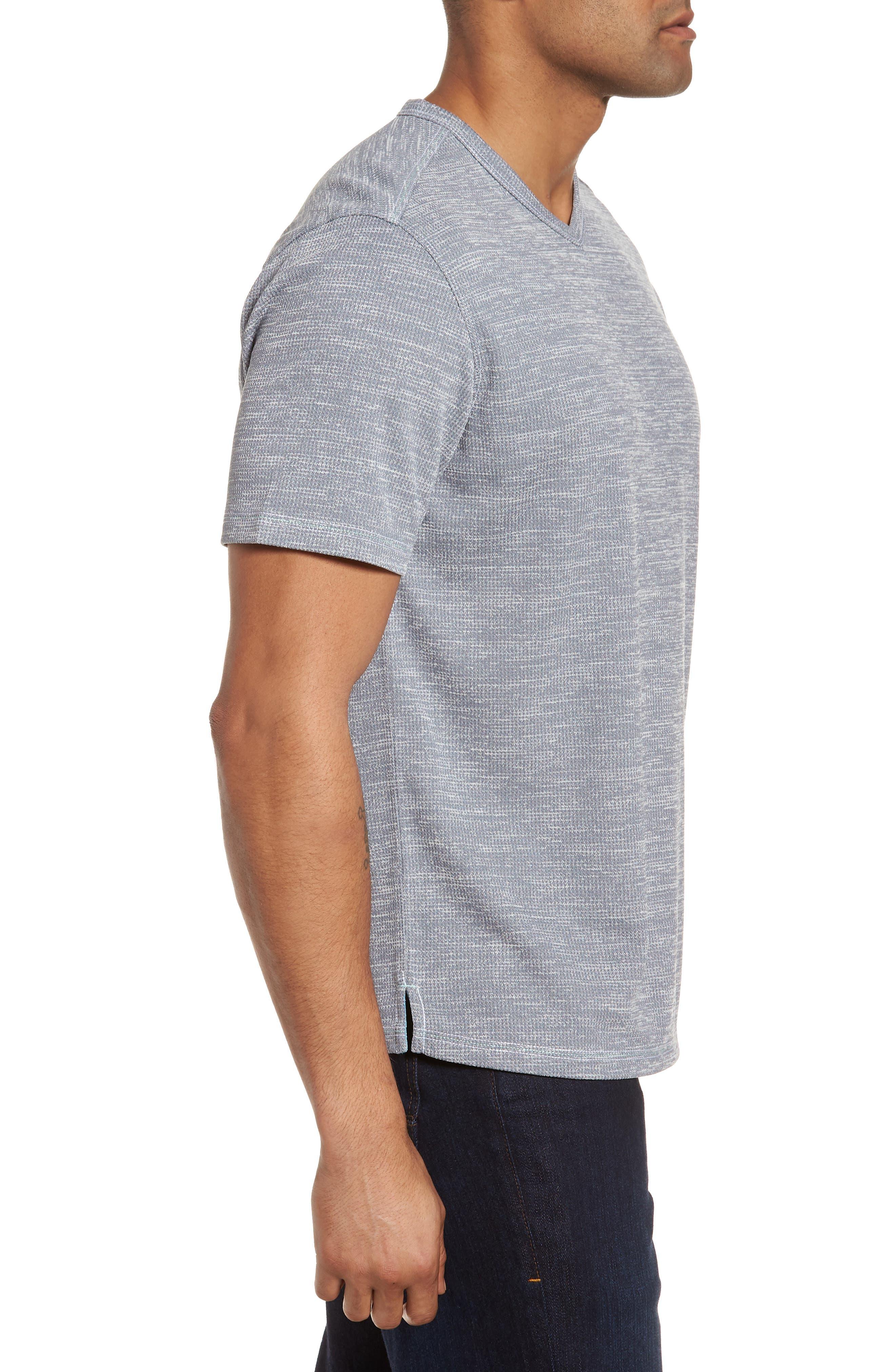 Sand Key V-Neck T-Shirt,                             Alternate thumbnail 2, color,                             Carbon Grey