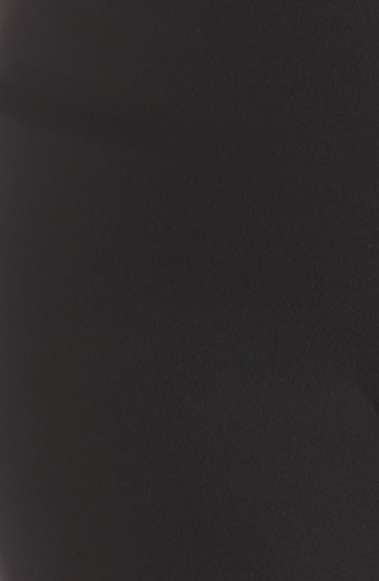 Kendall Uprising Capris,                             Alternate thumbnail 5, color,                             Black/ White