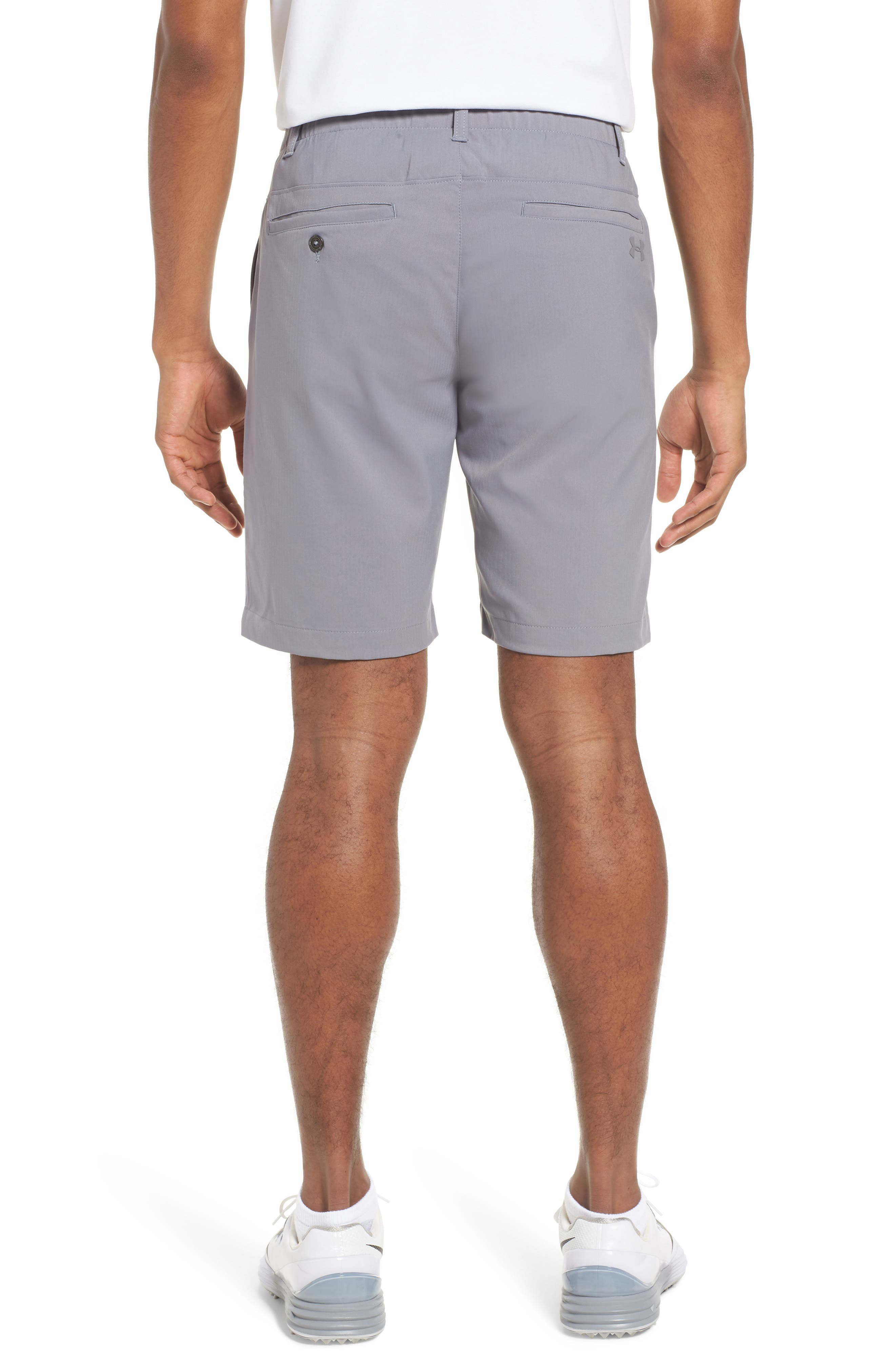 Takeover Regular Fit Golf Shorts,                             Alternate thumbnail 2, color,                             Zinc Grey