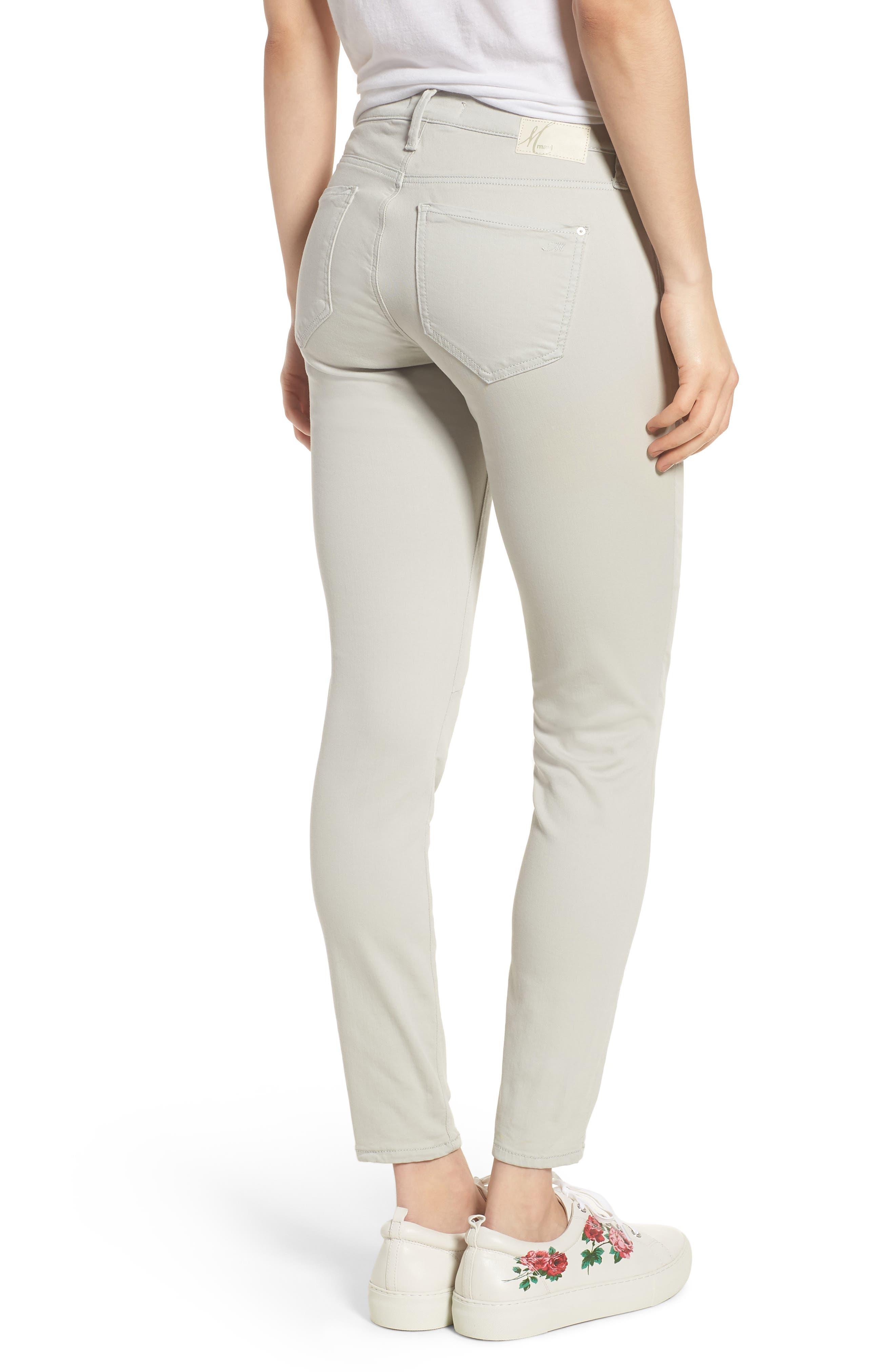 Mavi Karlina Skinny Cargo Pants,                             Alternate thumbnail 2, color,                             Glacier Grey Twill