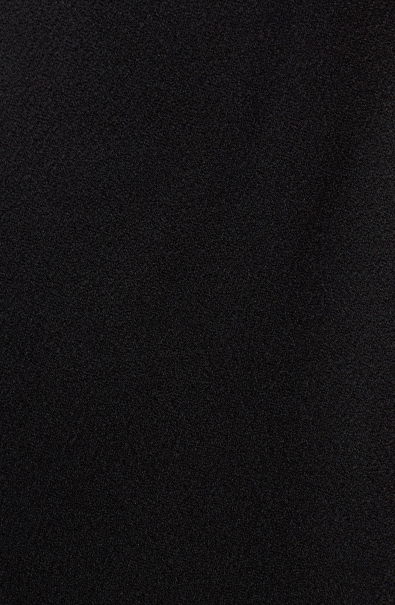 Daviana Sheath Dress,                             Alternate thumbnail 5, color,                             Black
