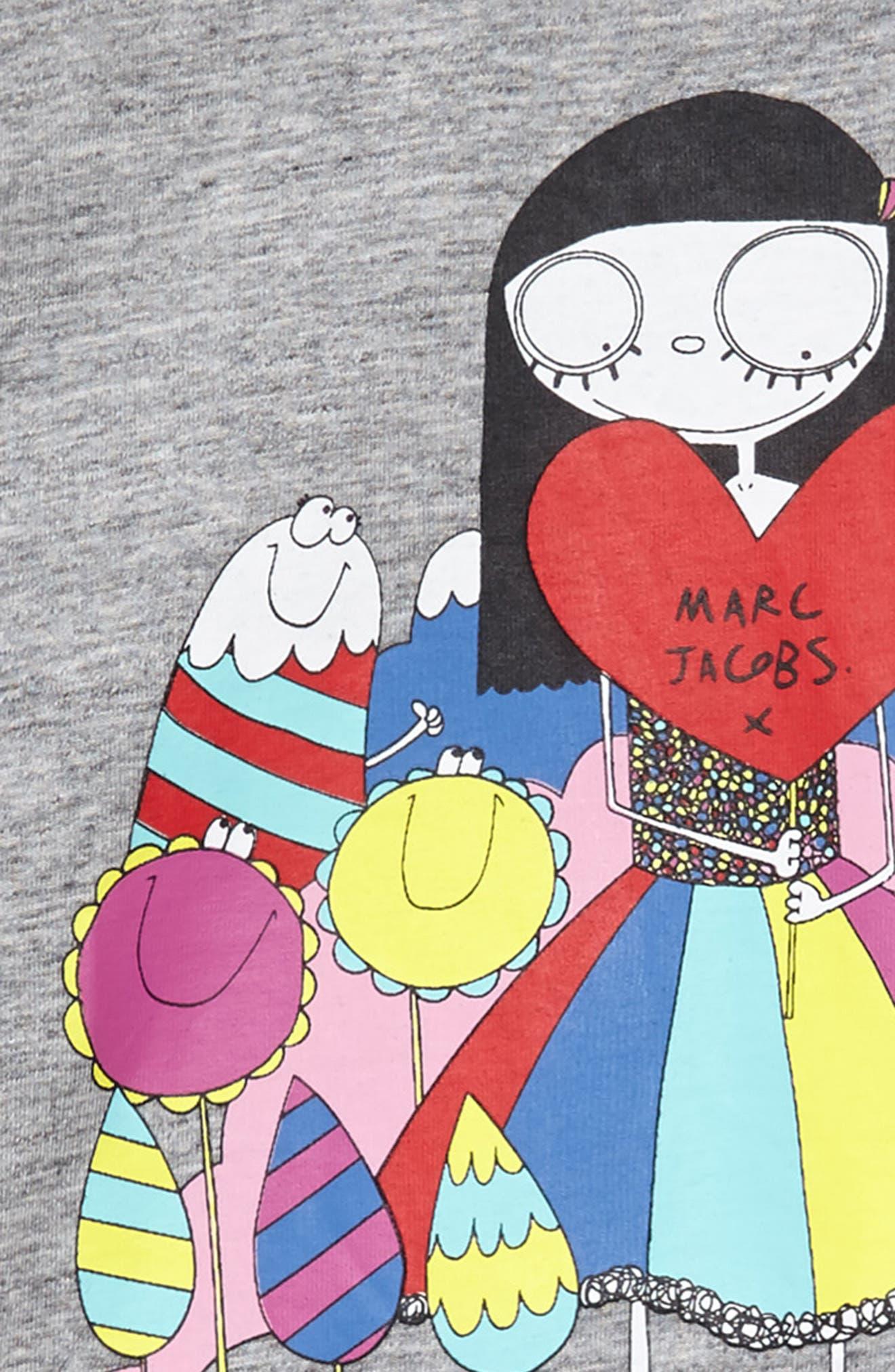 Miss Marc Dress,                             Alternate thumbnail 3, color,                             Gris Chine