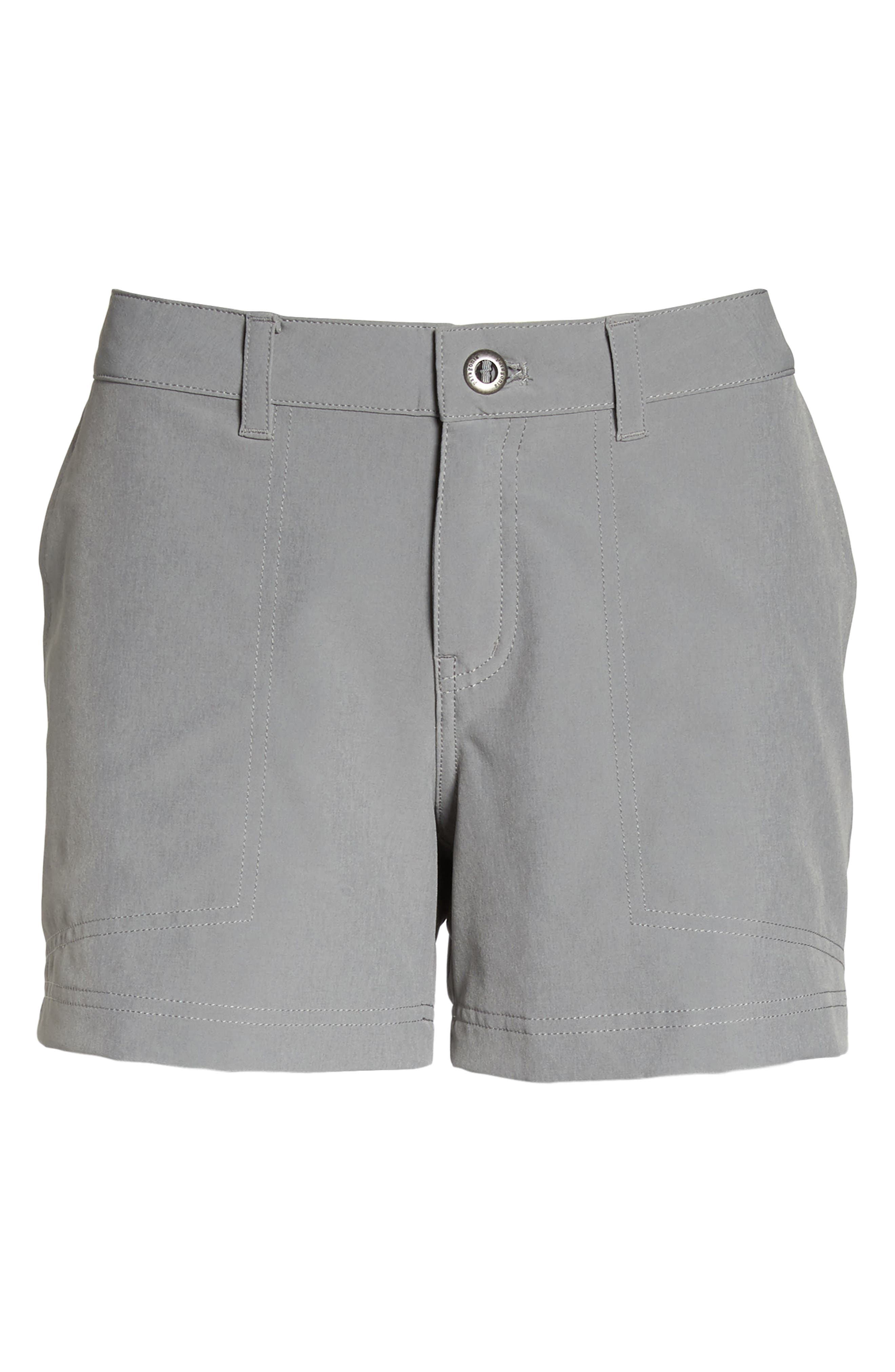 Happy Hike Shorts,                             Alternate thumbnail 7, color,                             Feather Grey