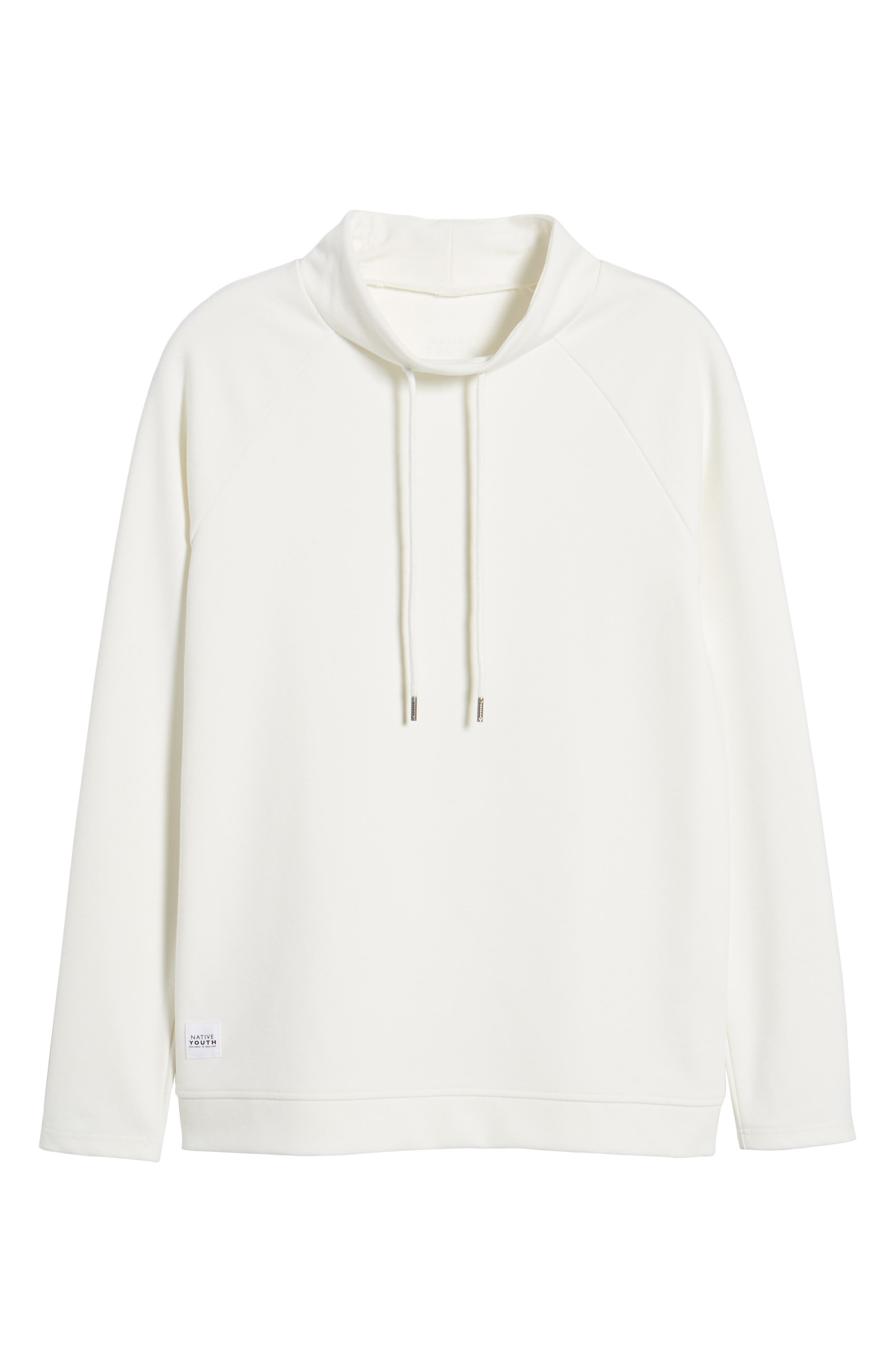Storm Sweat Hoodie,                             Alternate thumbnail 6, color,                             White