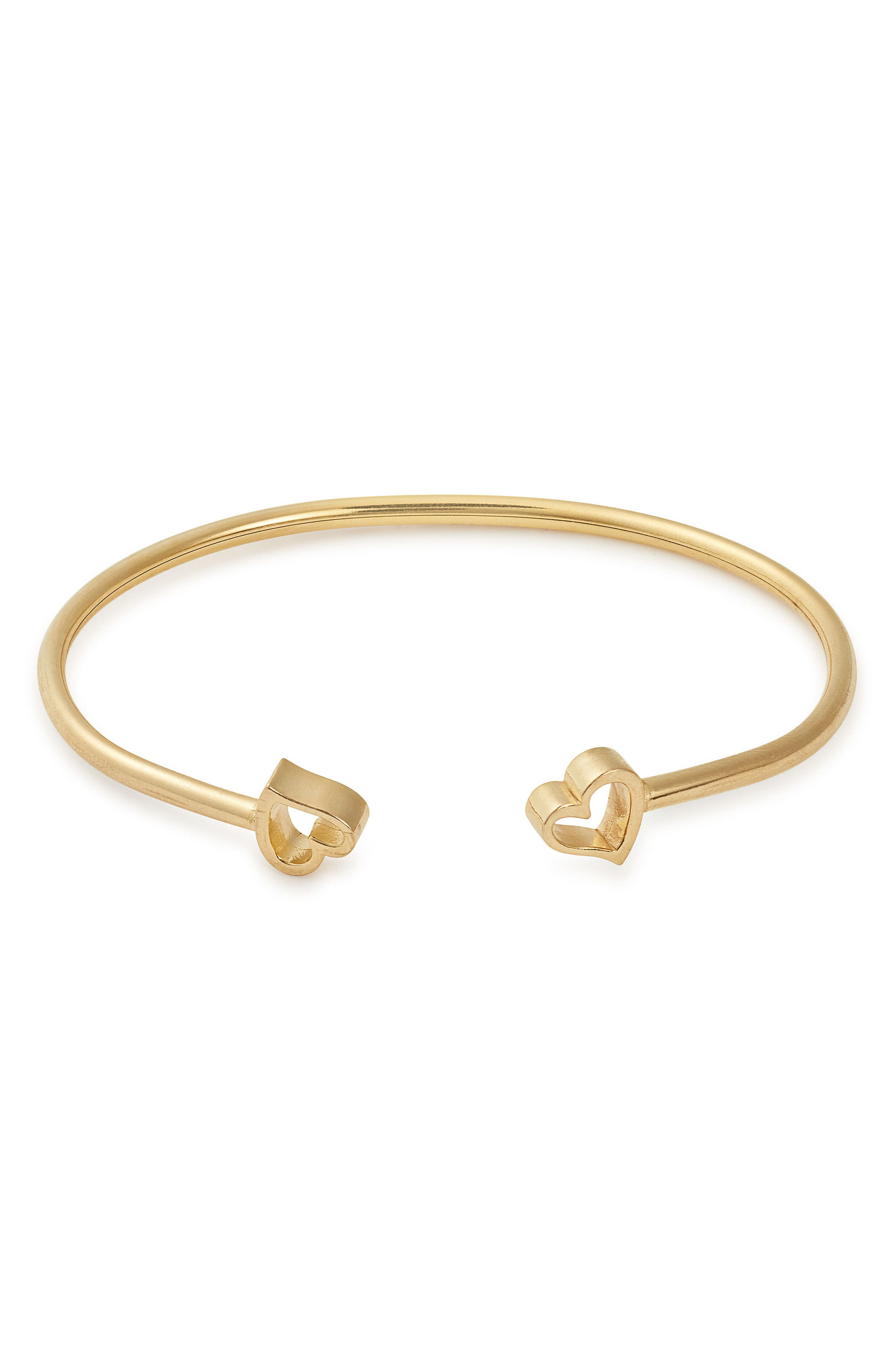 Formidable H Cuff,                             Main thumbnail 1, color,                             Gold