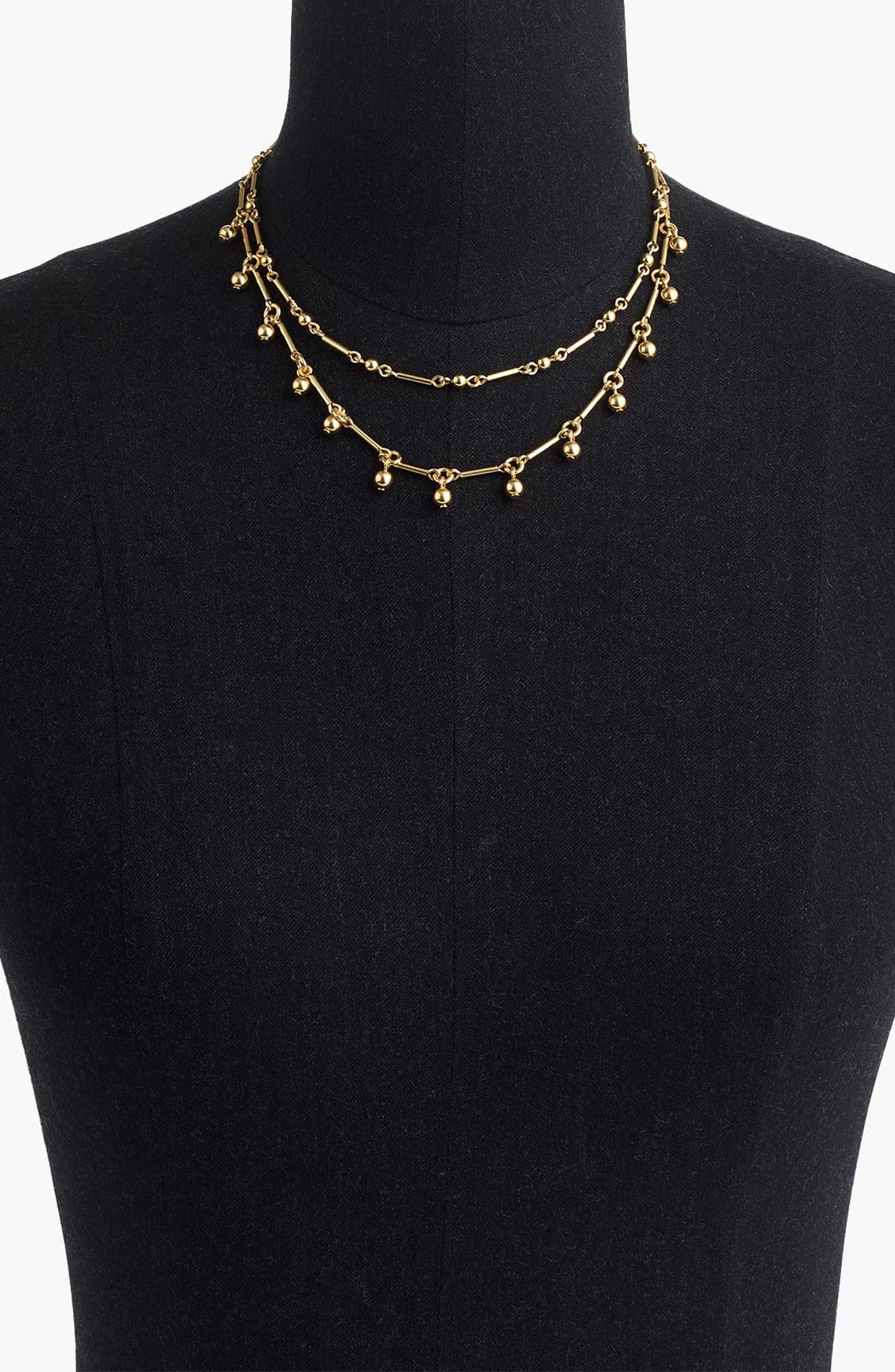 Alternate Image 2  - J.Crew Double-Strand Necklace