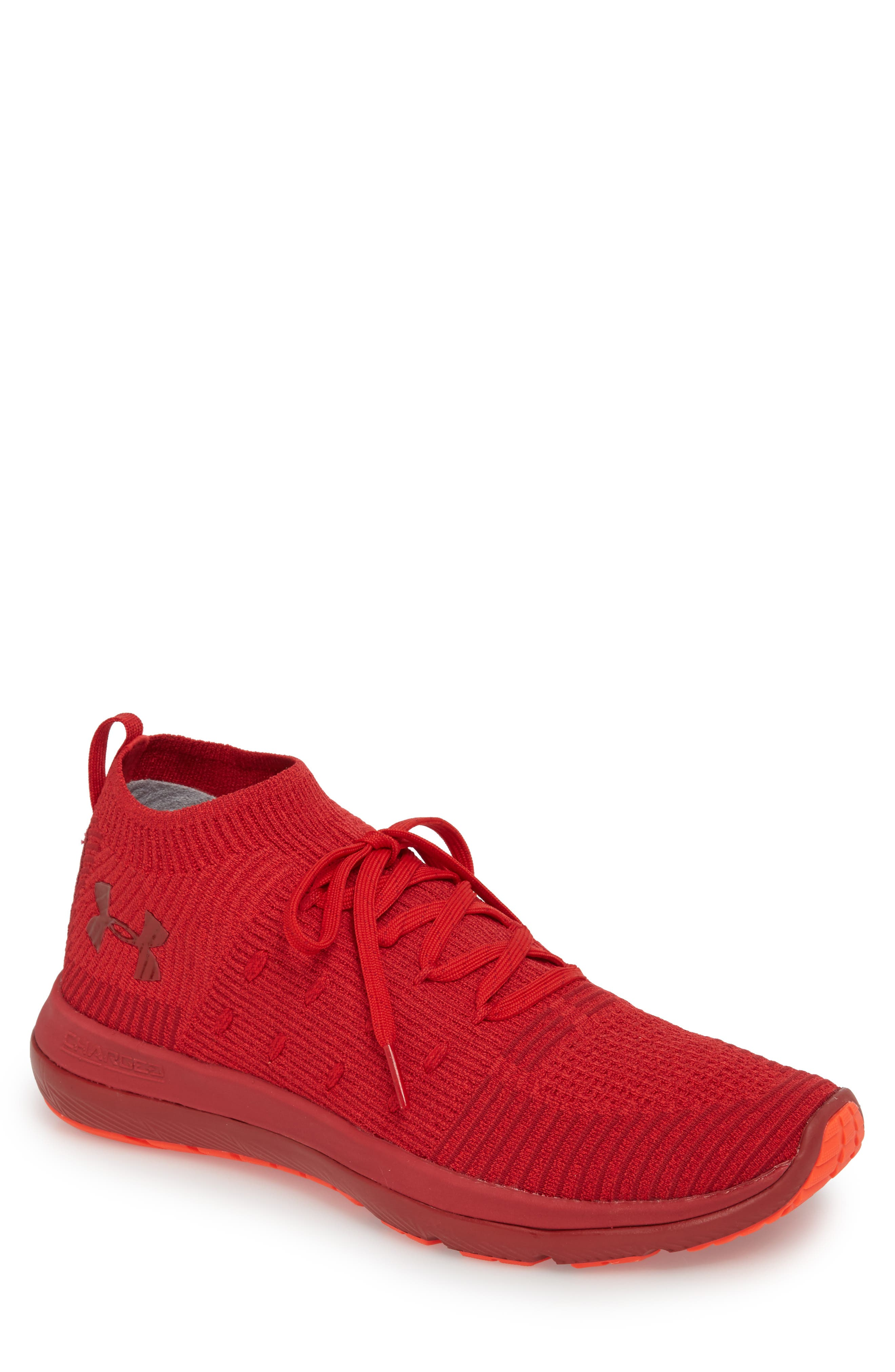 Slingflex Rise Sneaker,                         Main,                         color, Pierce/ Spice Red