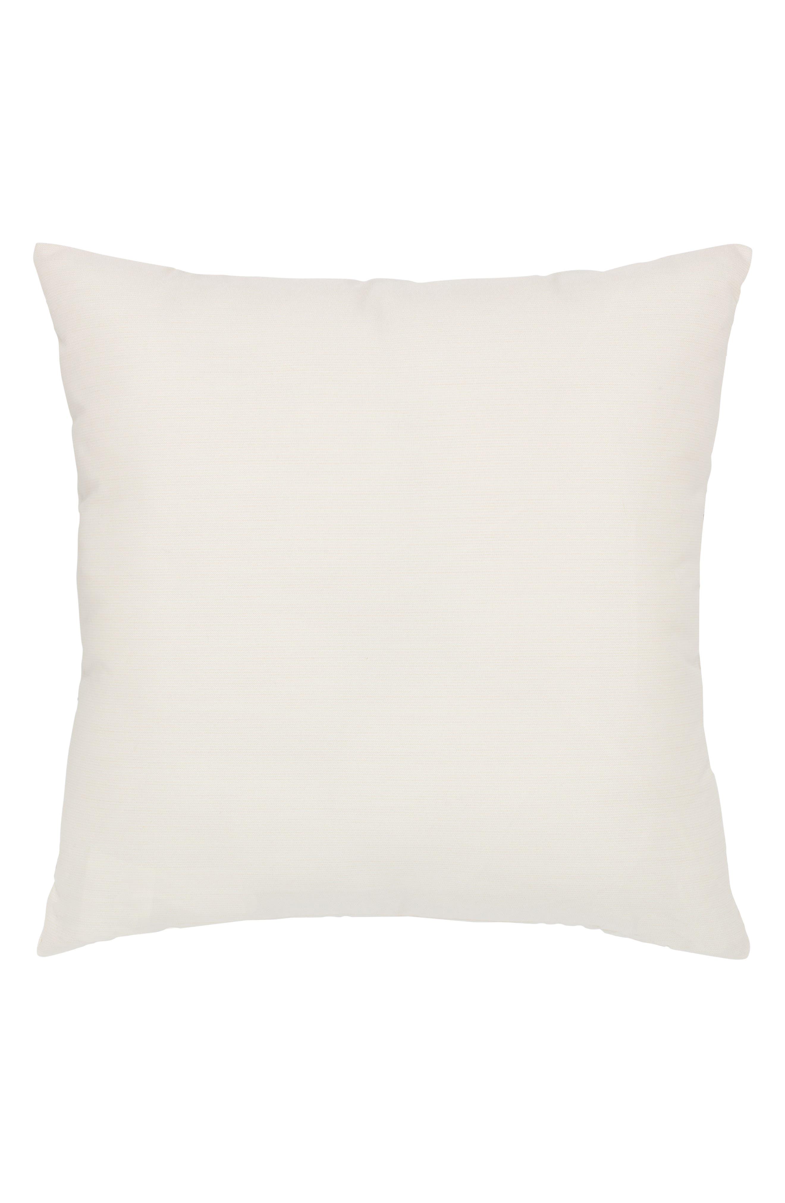 Metallic Block Indoor/Outdoor Accent Pillow,                             Alternate thumbnail 2, color,                             Gold/ Grey