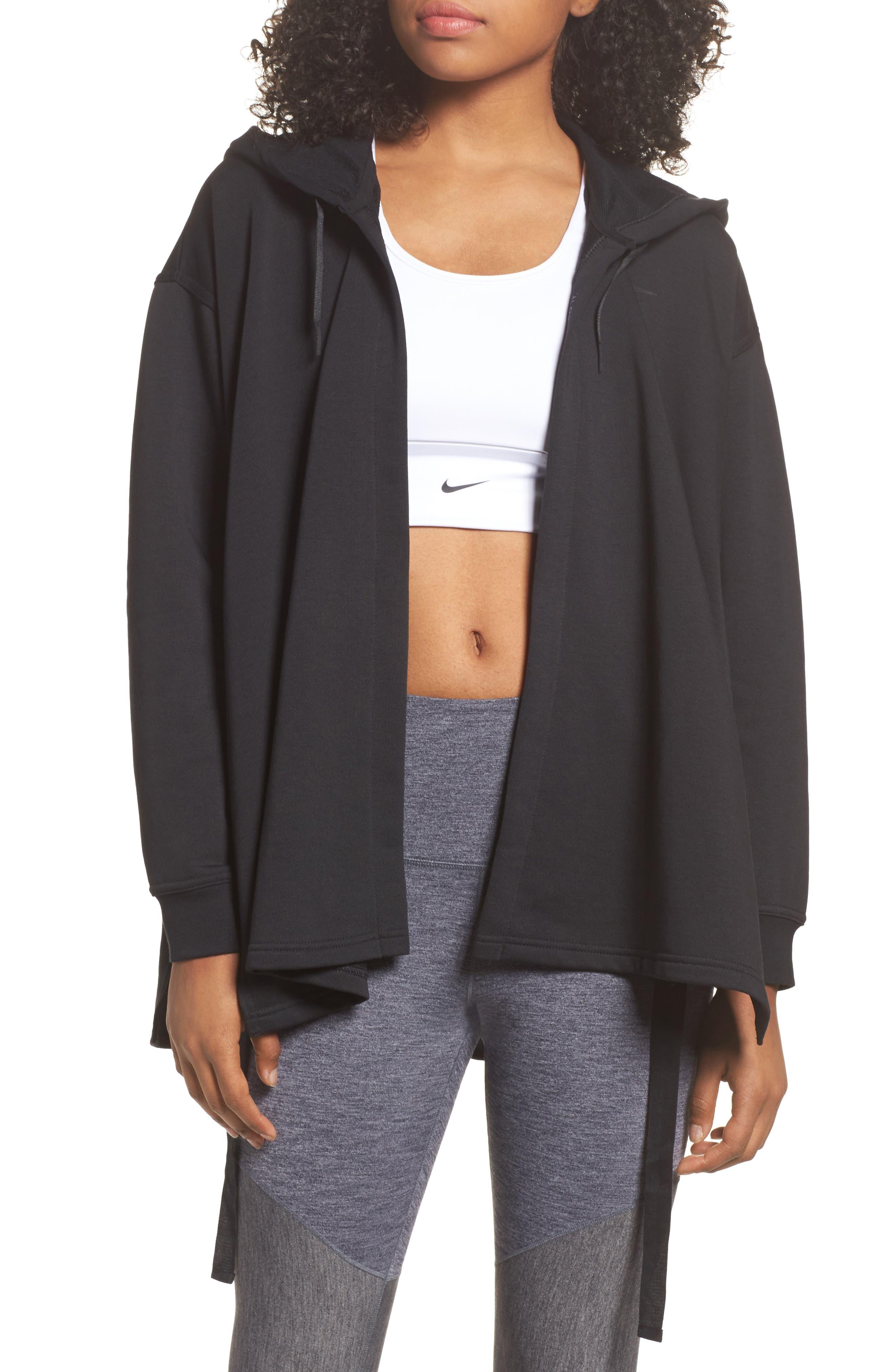 Dry Wrap Training Hoodie,                         Main,                         color, Black/ Gunsmoke/ Black