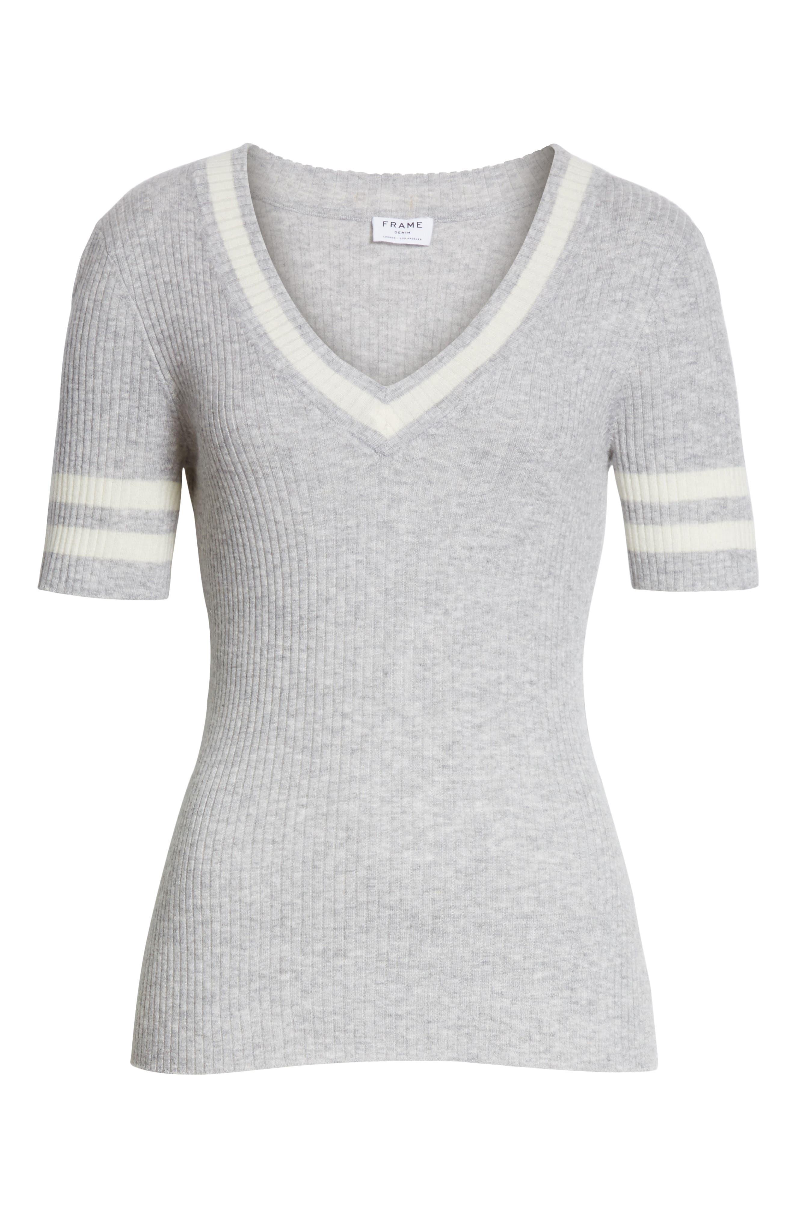 Alternate Image 7  - FRAME Varsity Sweater