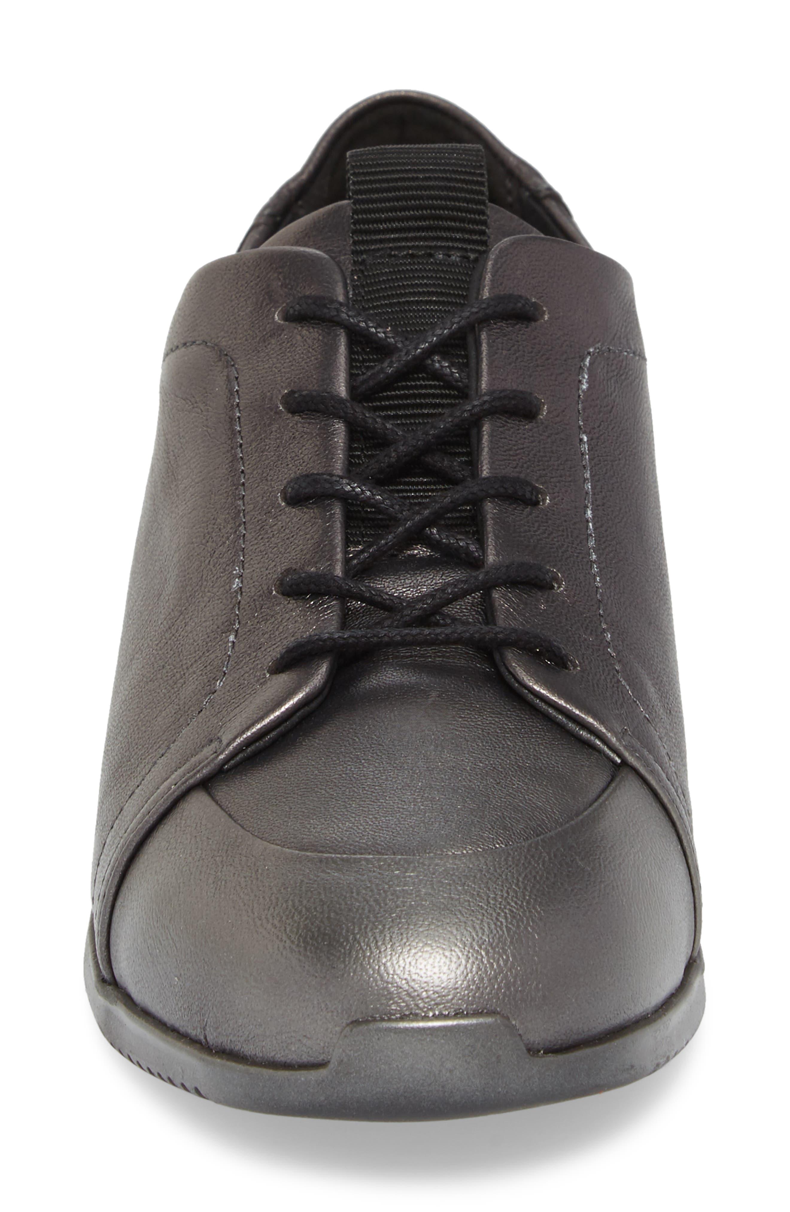 Ria Sneaker,                             Alternate thumbnail 4, color,                             Pirita Leather