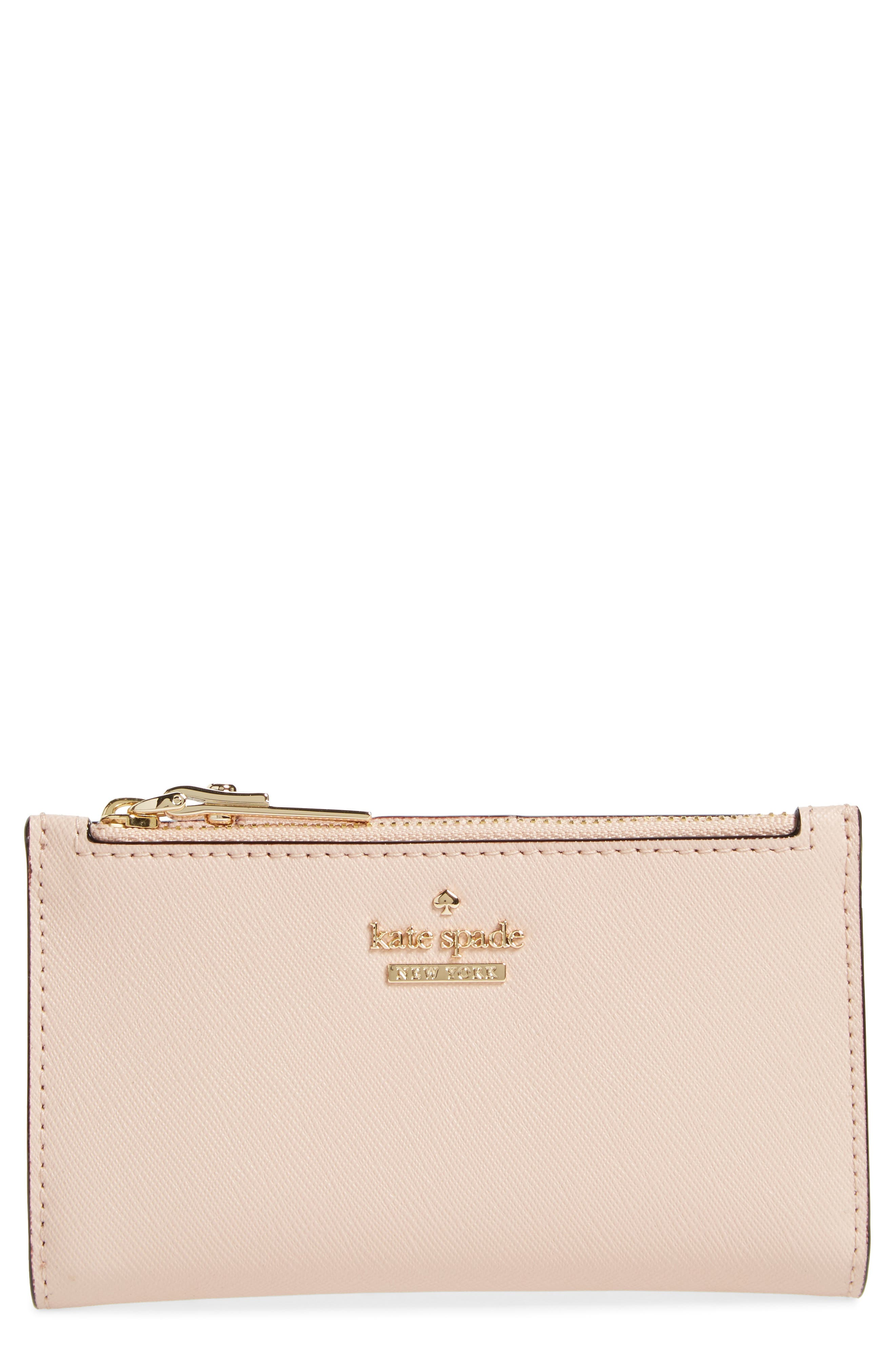 kate spade new york cameron street - mikey leather wallet