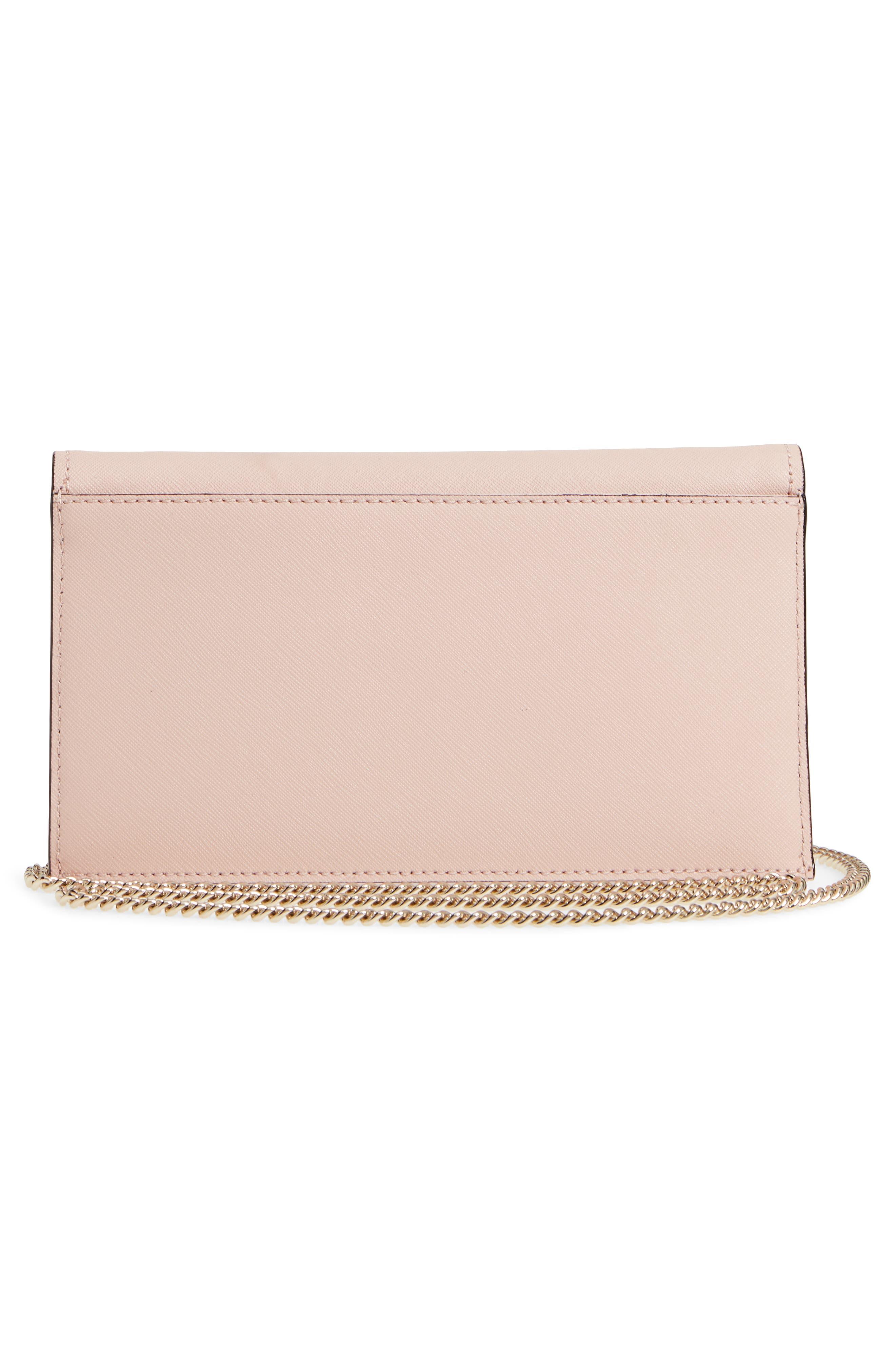 cameron street - brennan leather wallet & card case,                             Alternate thumbnail 3, color,                             Warm Vellum