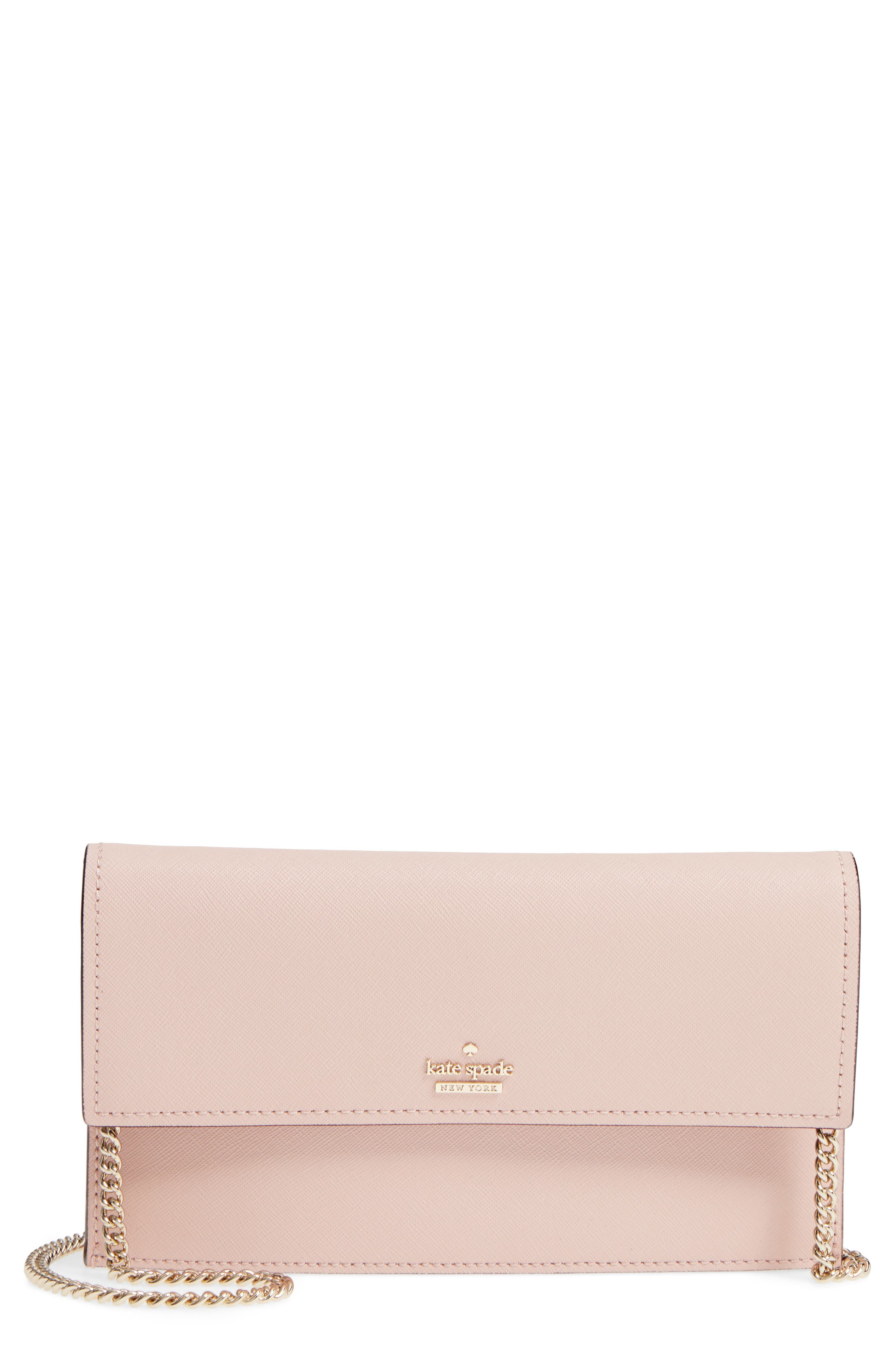 kate spade new york cameron street - brennan leather wallet & card case
