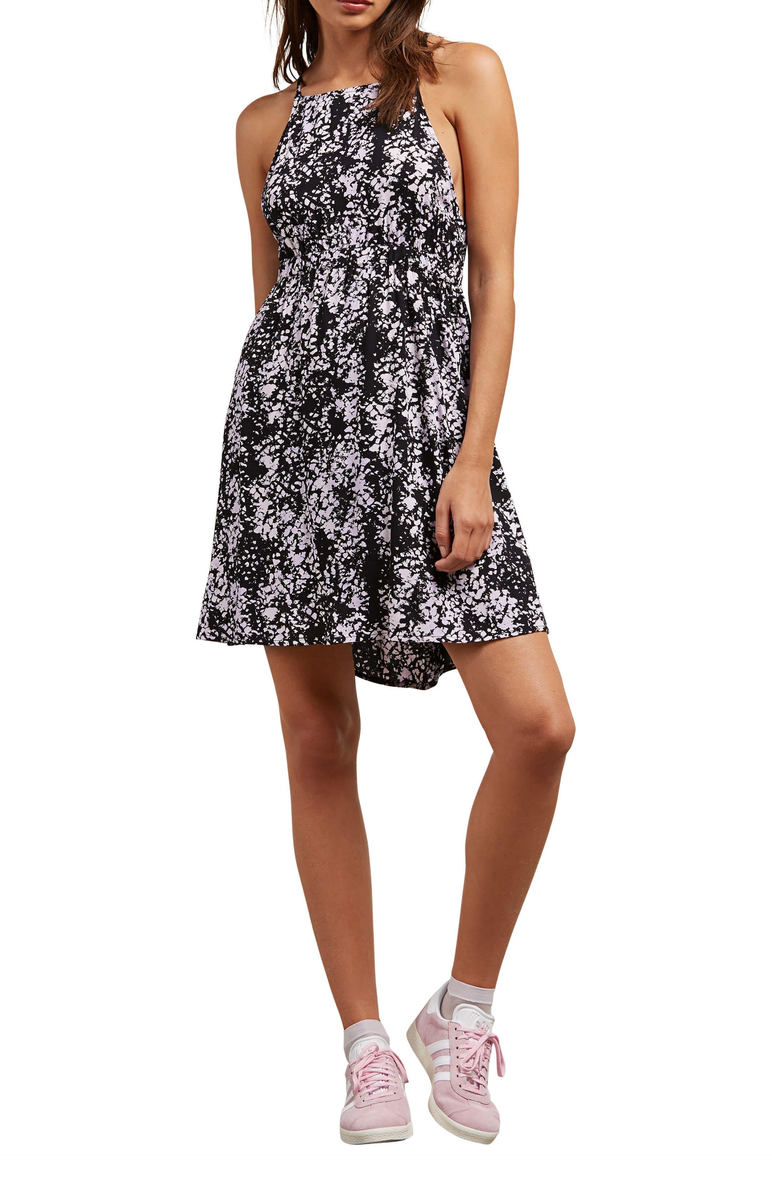 Volcom Sidesnaked Strappy Dress