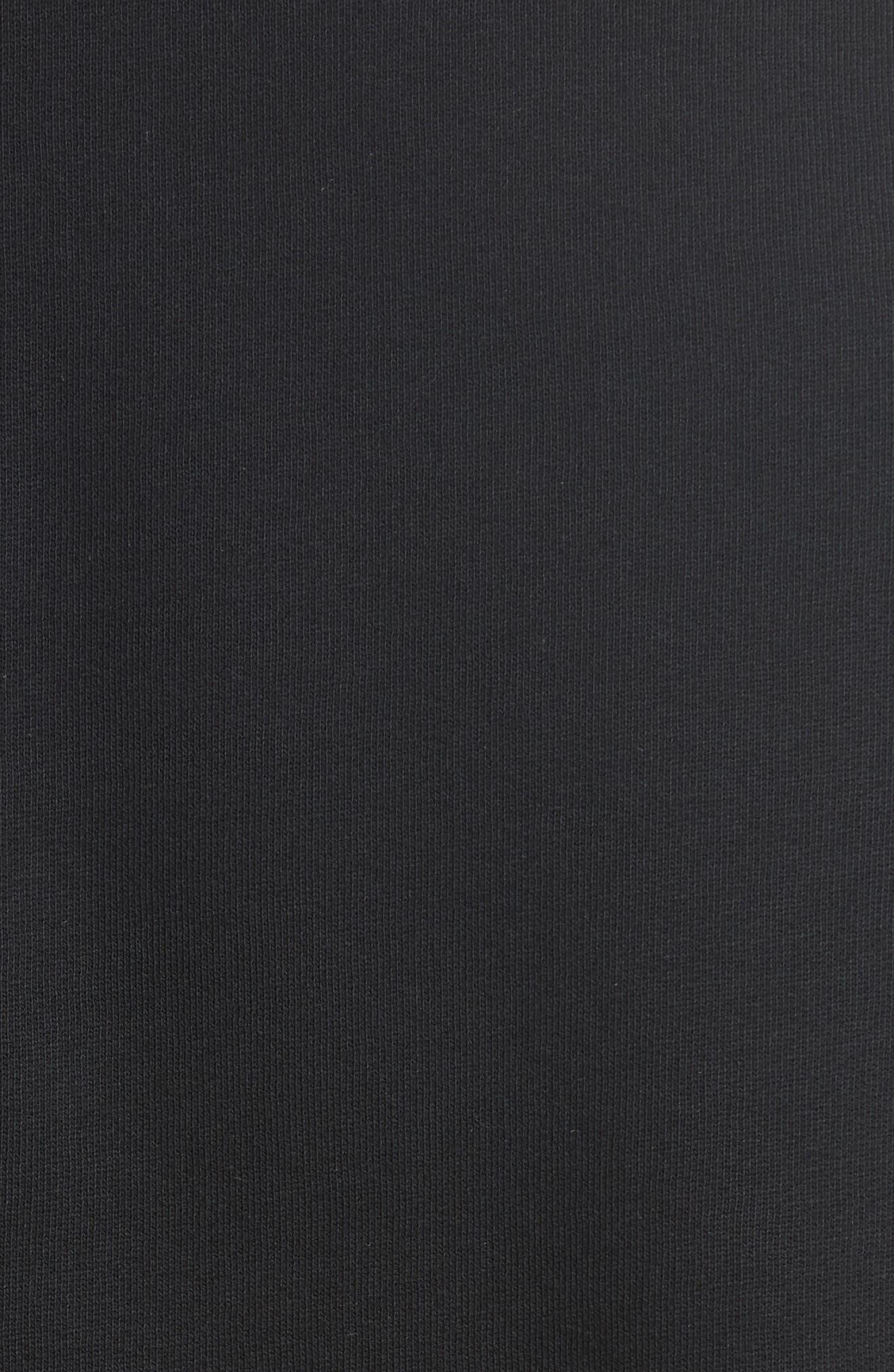 Barford Crewneck Sweatshirt,                             Alternate thumbnail 5, color,                             Black