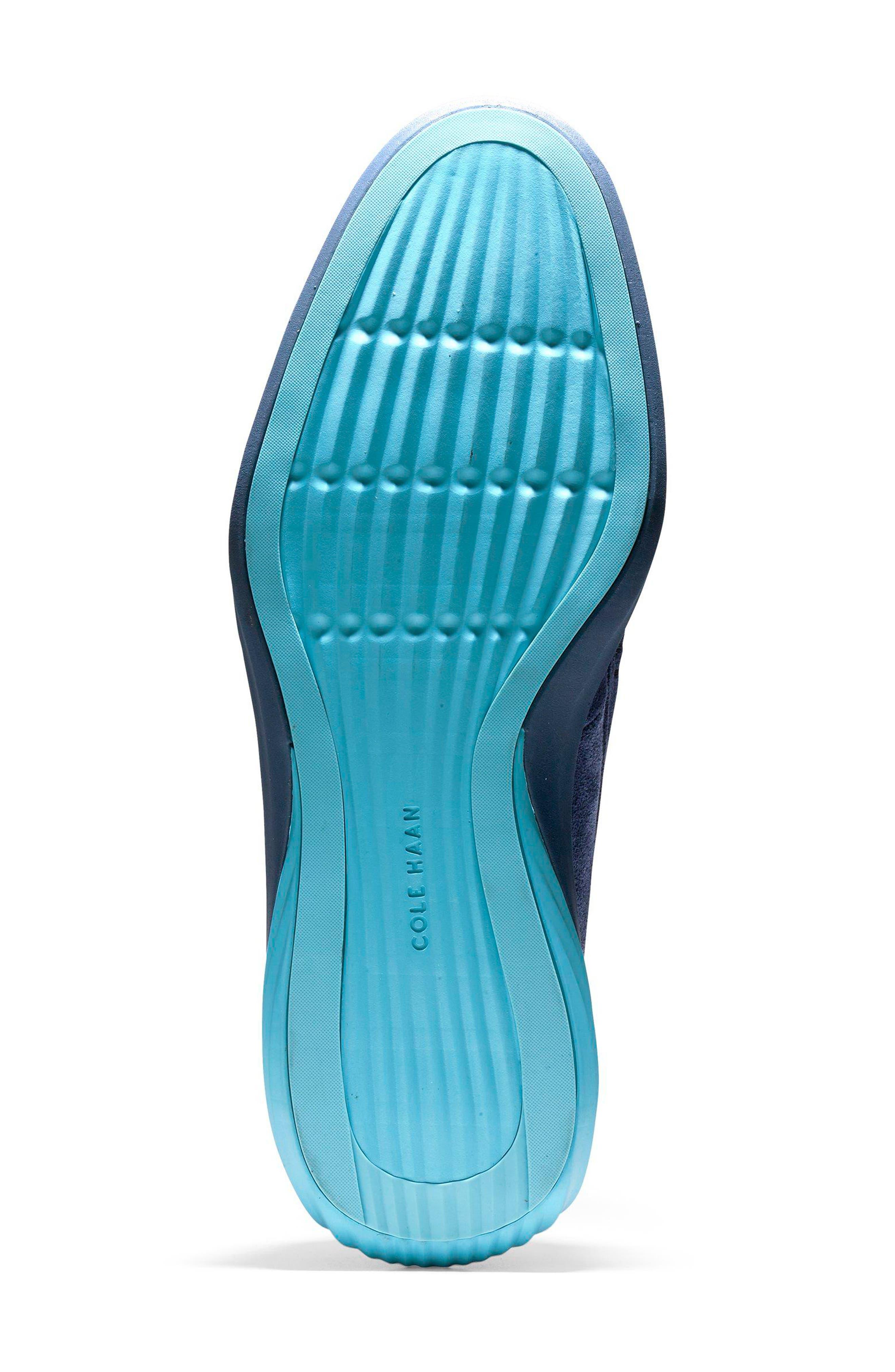 GrandEvølution Venetian Loafer,                             Alternate thumbnail 6, color,                             Marine Blue Suede