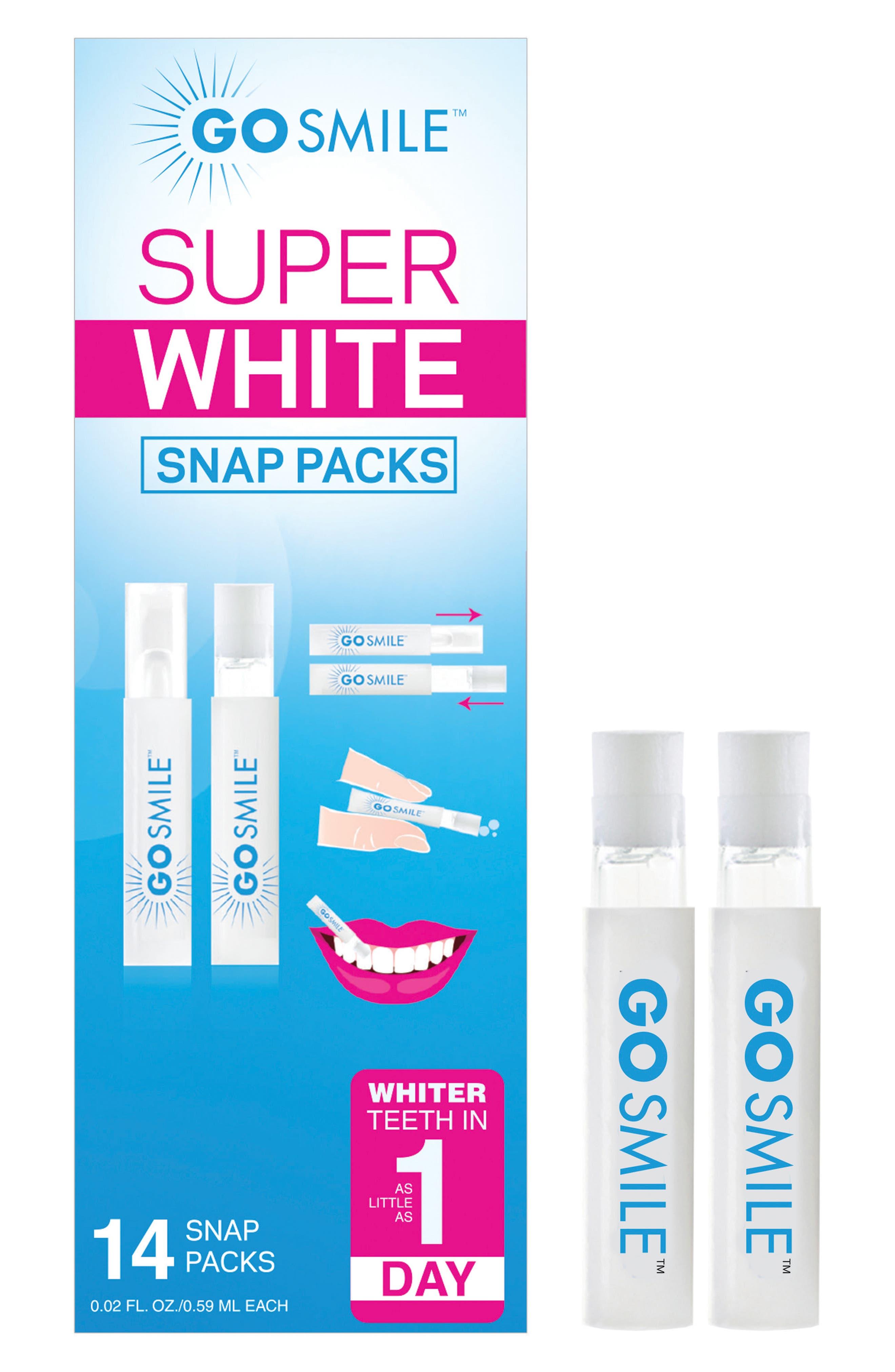 GO SMiLE® Super White Snap Packs