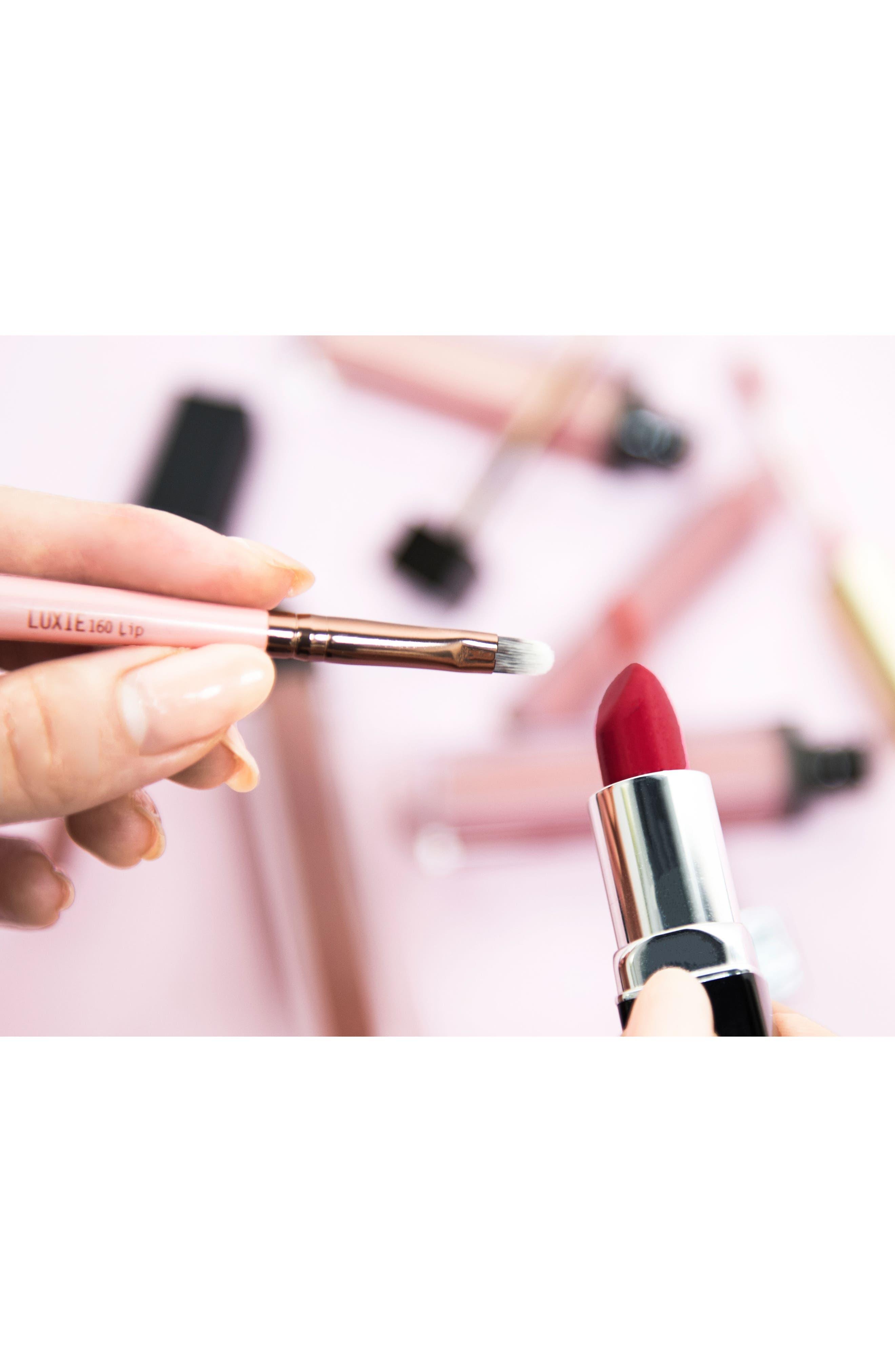 160 Rose Gold Lip Brush,                             Alternate thumbnail 2, color,                             No Color