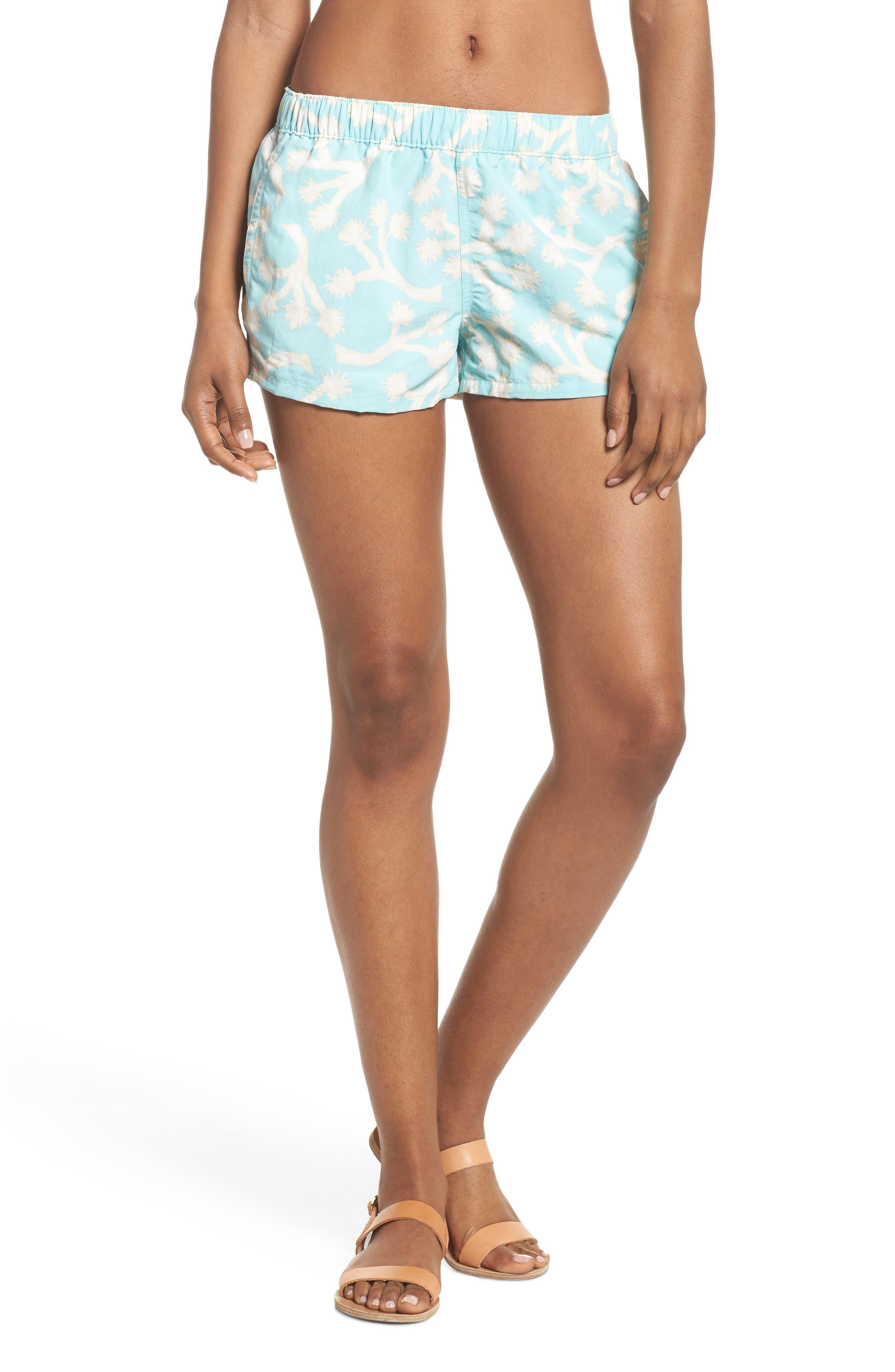 Barely Baggies Shorts,                         Main,                         color, Josb Joshua Trees Bend Blue
