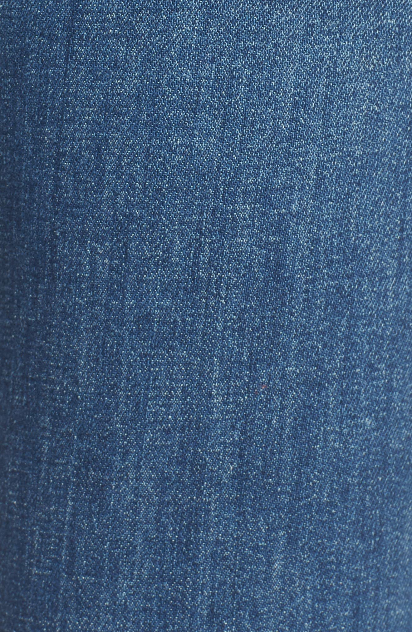 The Looker Fray Ankle Skinny Jeans,                             Alternate thumbnail 6, color,                             One Smart Cookie