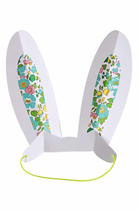 Meri meri for girls easter gifts nordstrom meri meri x liberty of london 8 pack bunny ears party hats kids negle Gallery