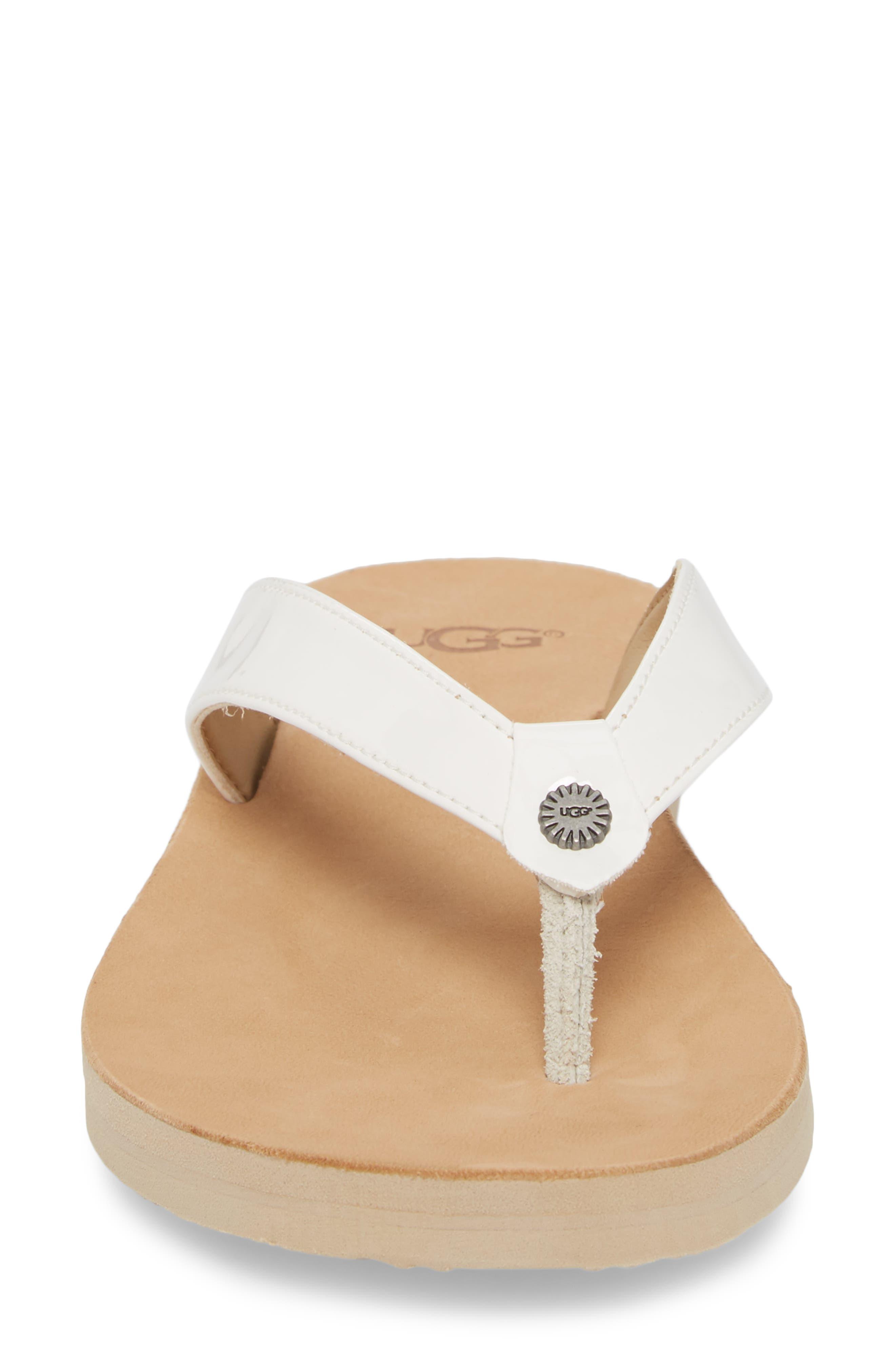 Alternate Image 4  - UGG® Tawney Flip Flop (Women)