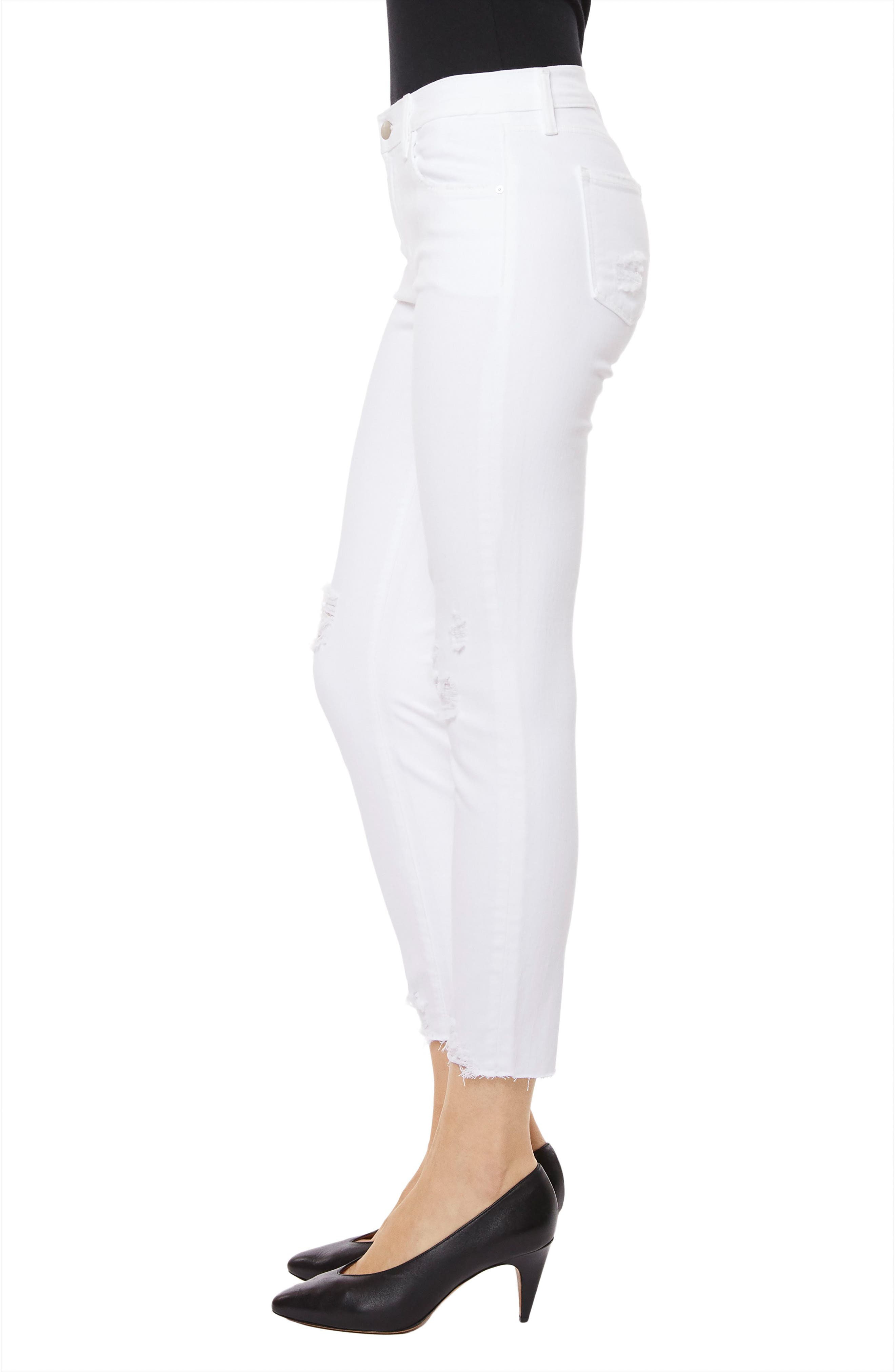 835 Capri Skinny Jeans,                             Alternate thumbnail 3, color,                             Underexposed