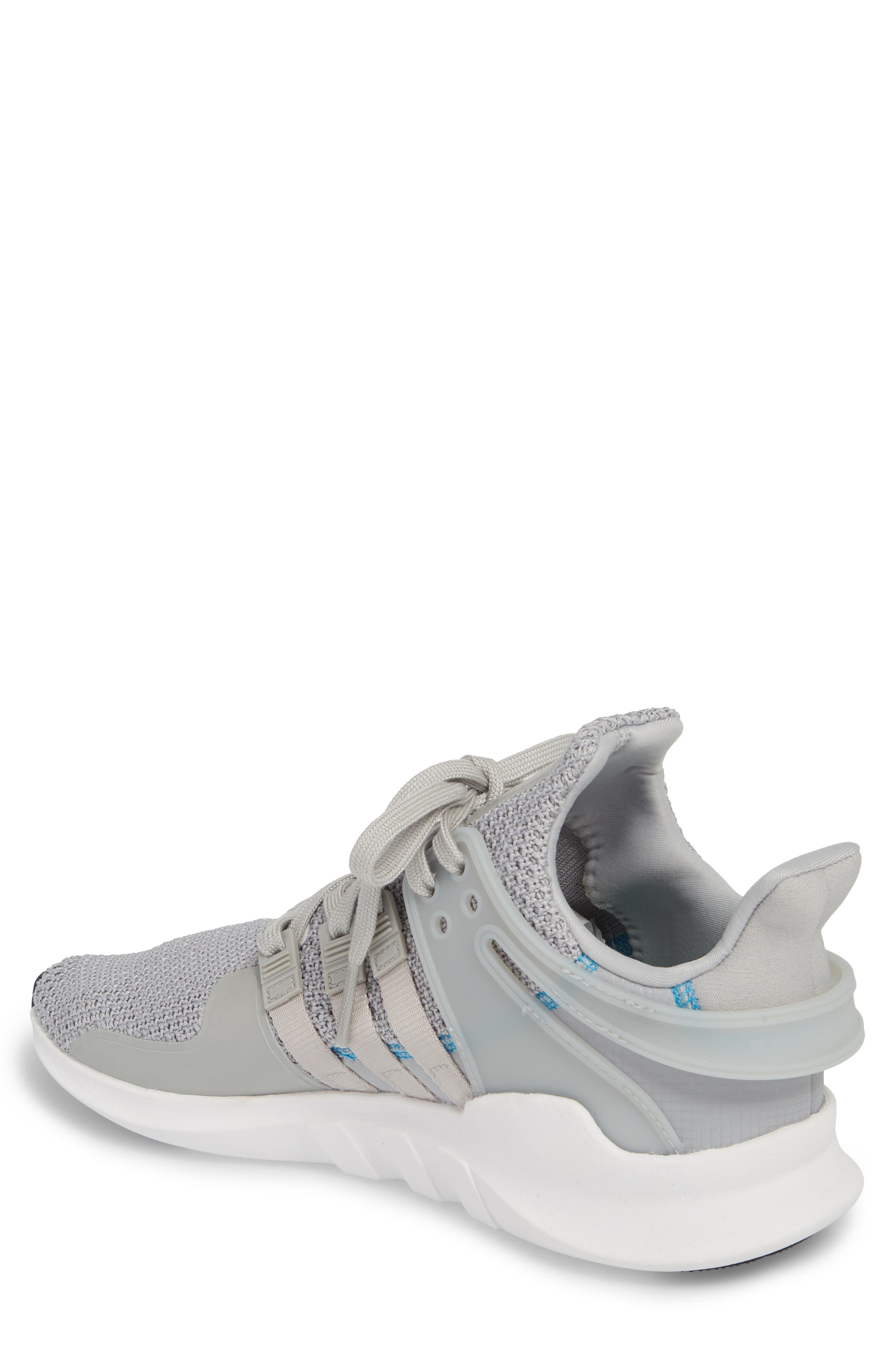 EQT Support Adv Sneaker,                             Alternate thumbnail 2, color,                             Grey/ White