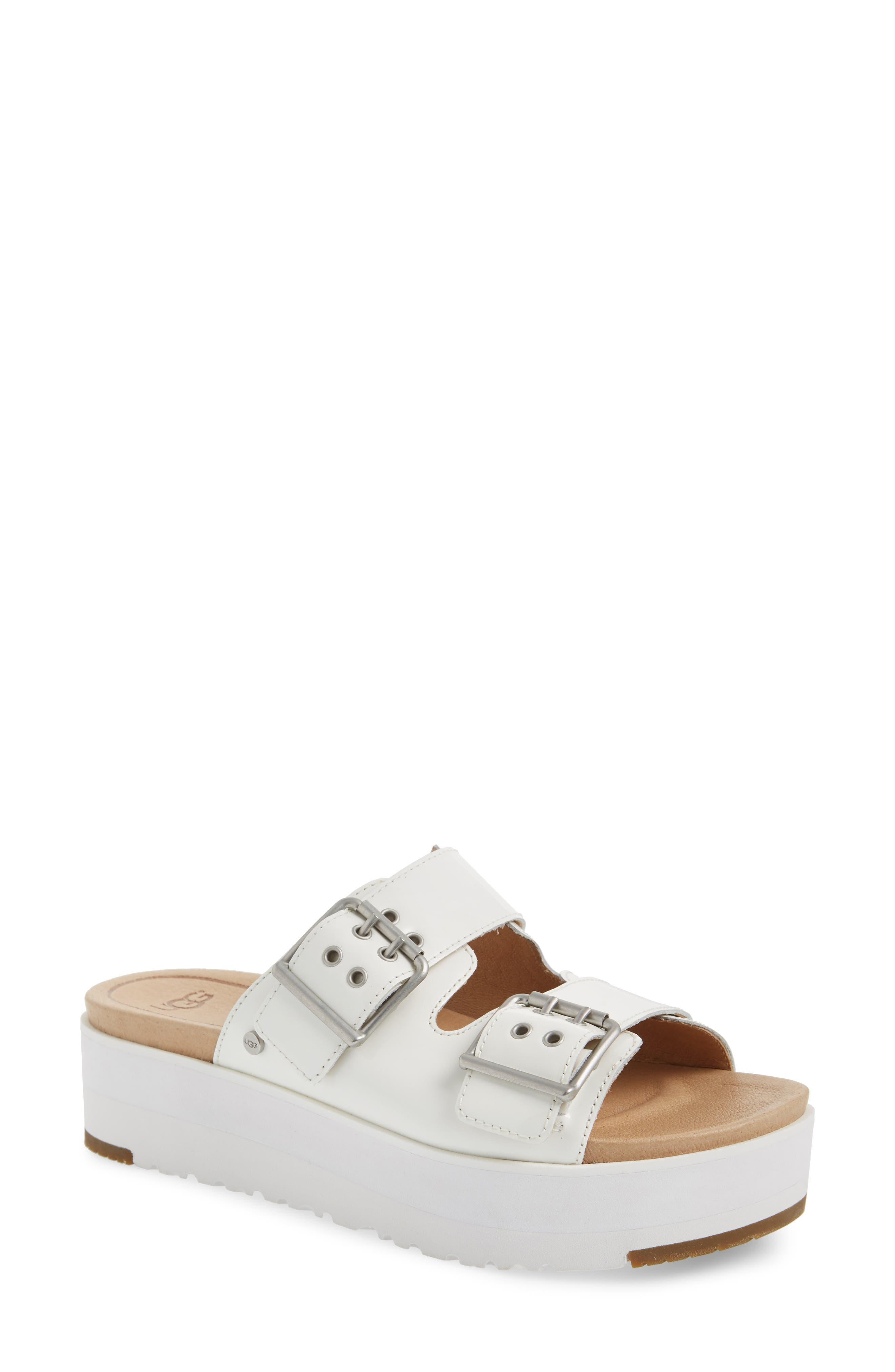 UGG® Cammie Platform Slide Sandal (Women)