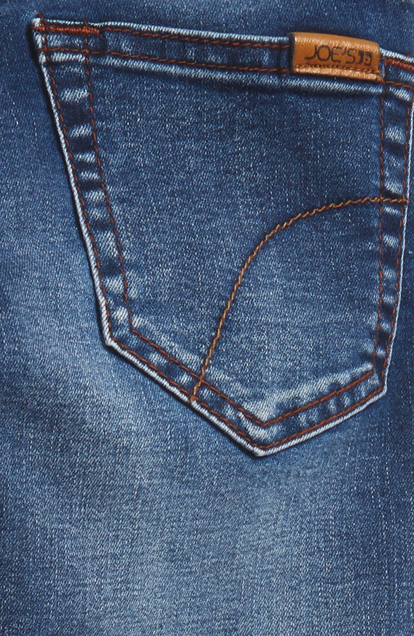 Brixton Slim Fit Stretch Jeans,                             Alternate thumbnail 3, color,                             Cielo