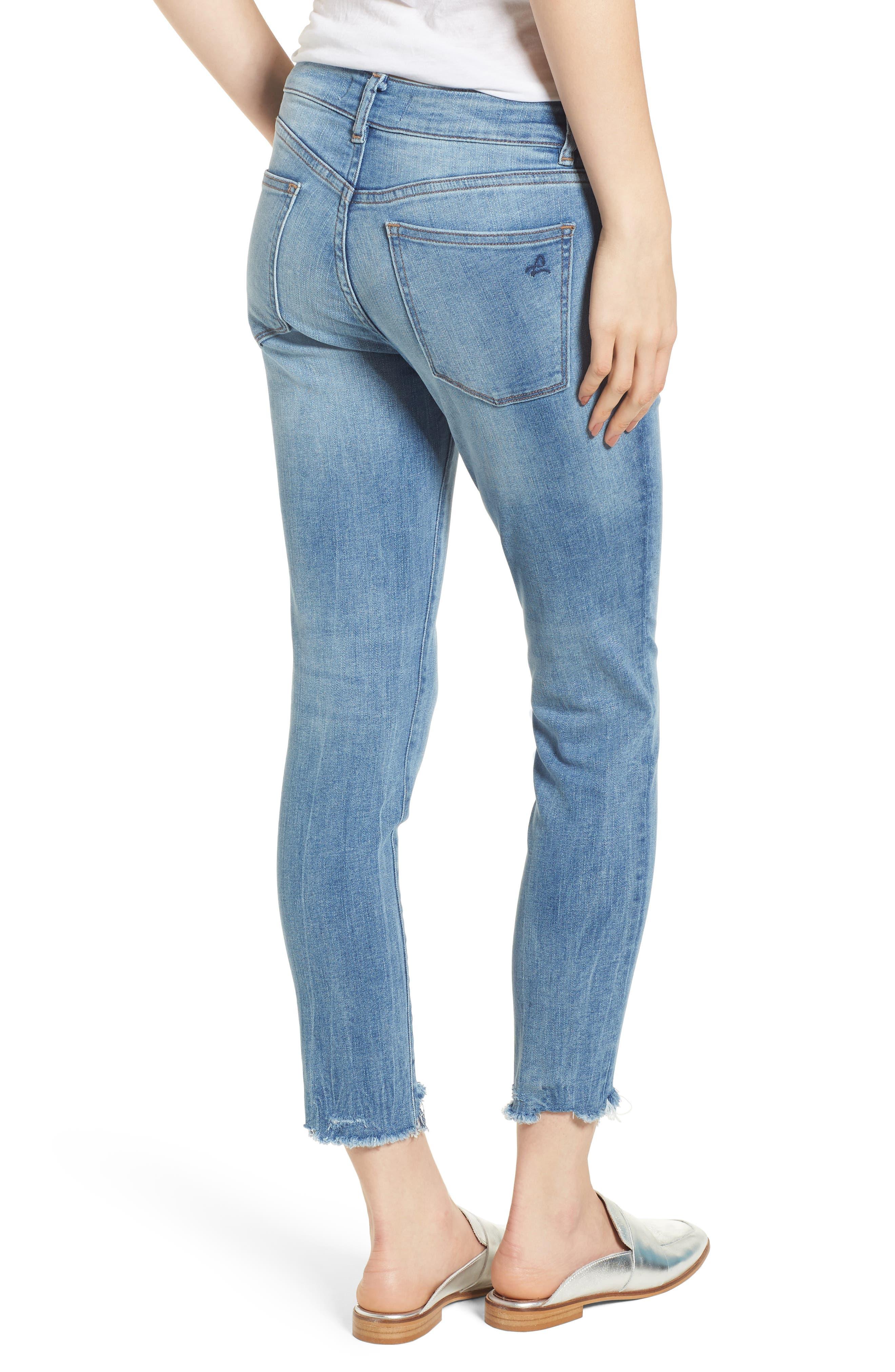 Florence Instasculpt Crop Skinny Jeans,                             Alternate thumbnail 2, color,                             Cavalier