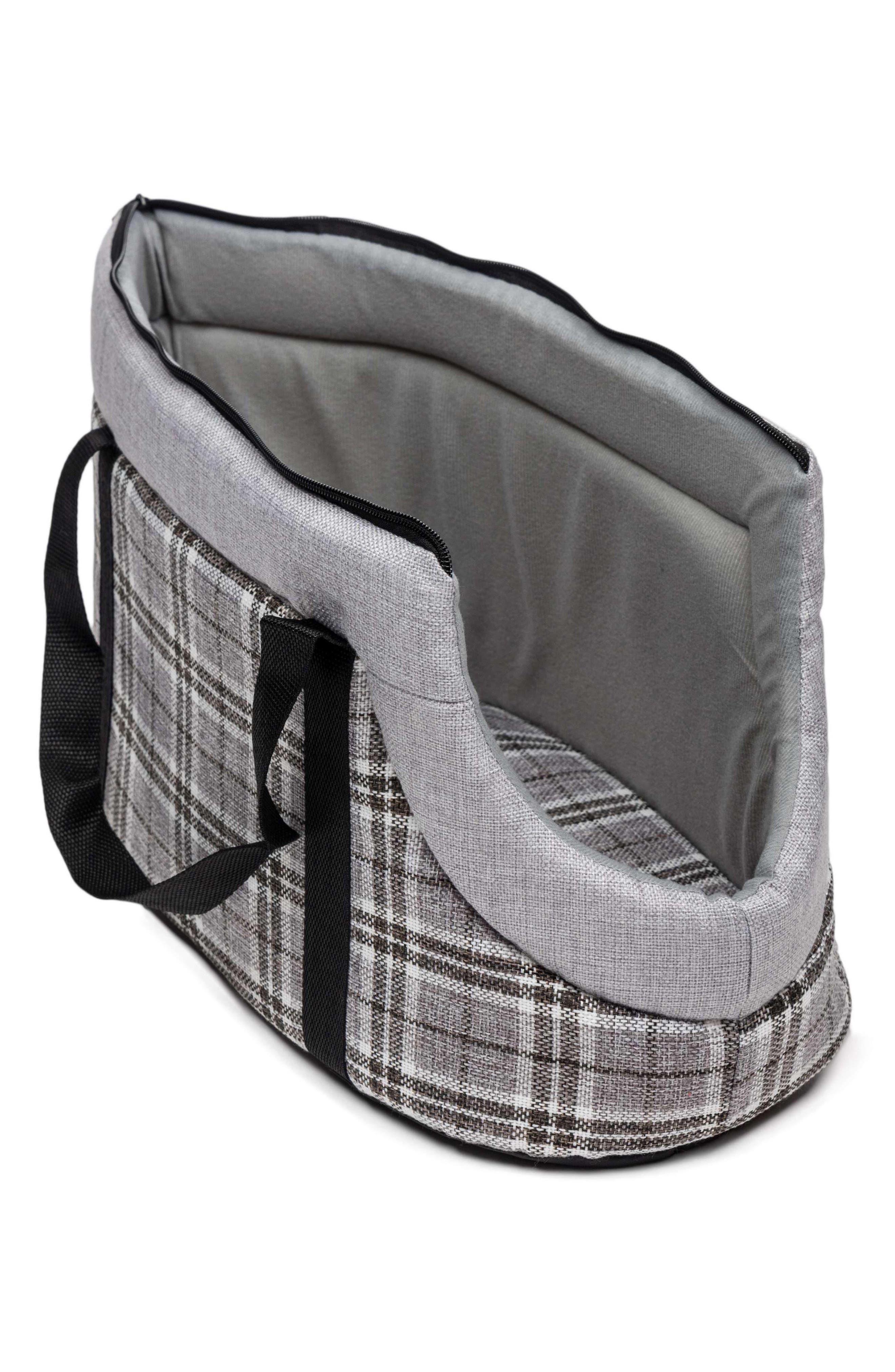 Harlee Pet Carrier,                         Main,                         color, Grey