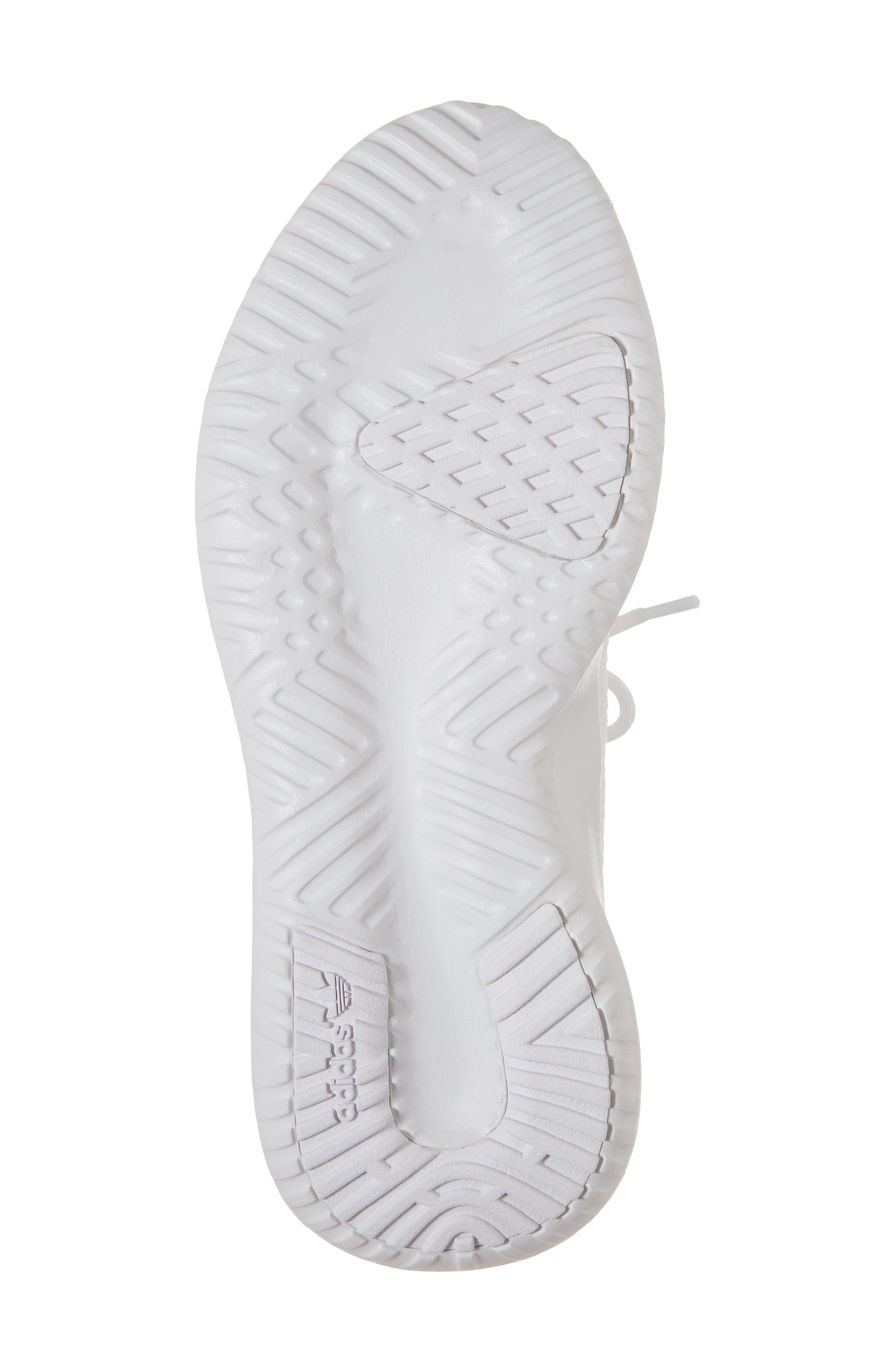 Tubular Shadow Sneaker,                             Alternate thumbnail 6, color,                             White/ White/ Core Black